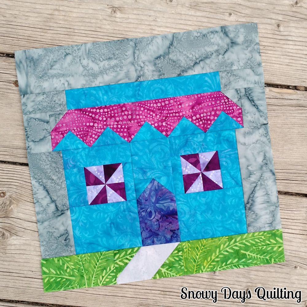 Quilt Shop quilt block