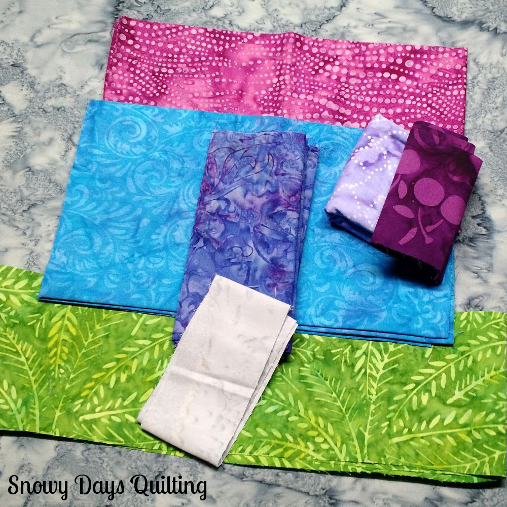 quilt fabric selection