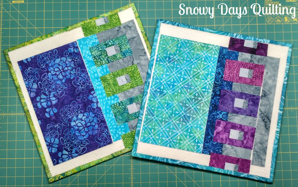 binding clips quilt block