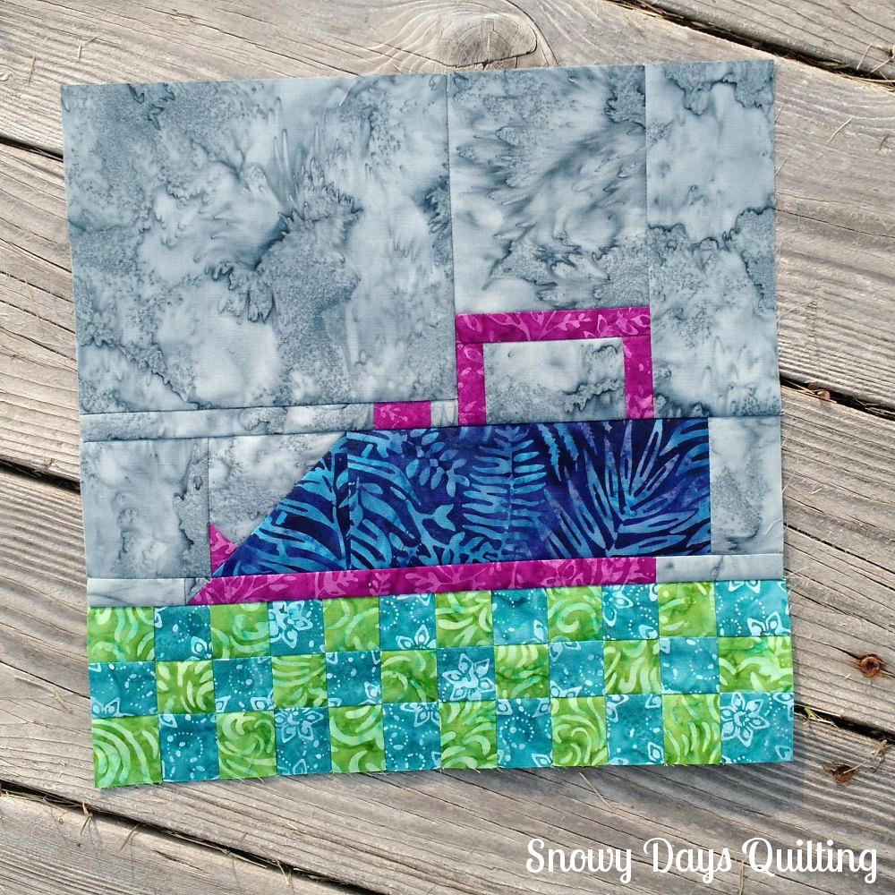 Iron quilt block