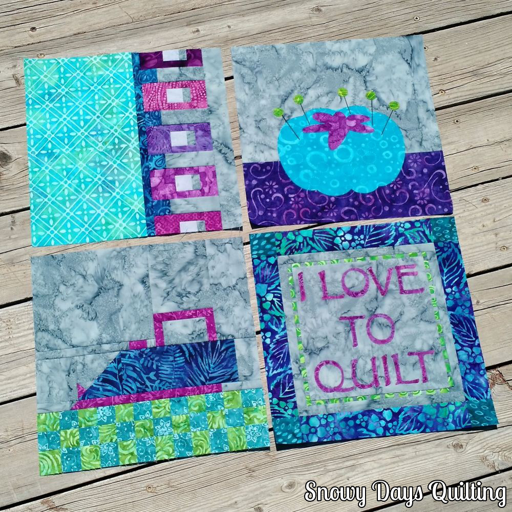 Sew Let's Quilt Along blocks