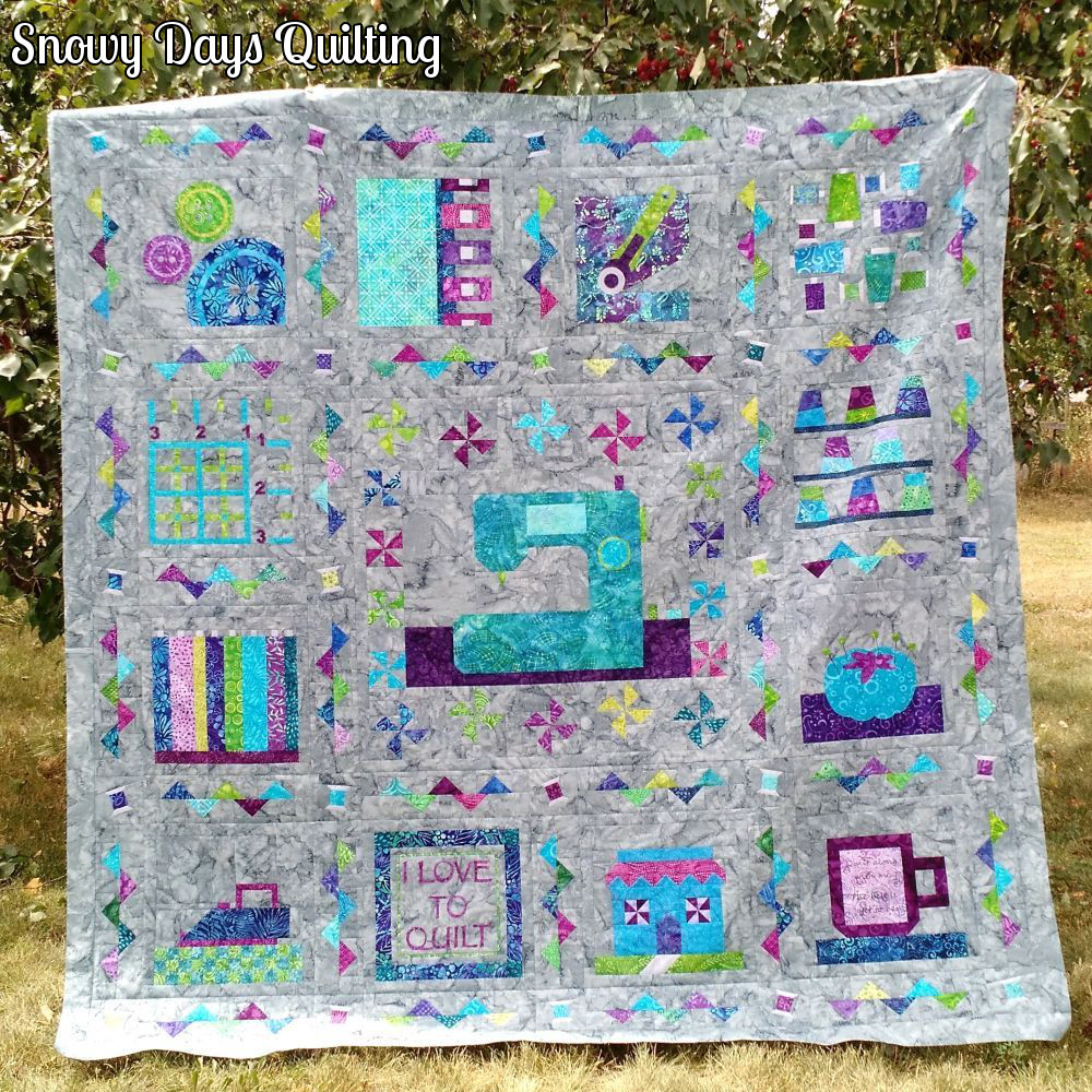 sampler quilt setting