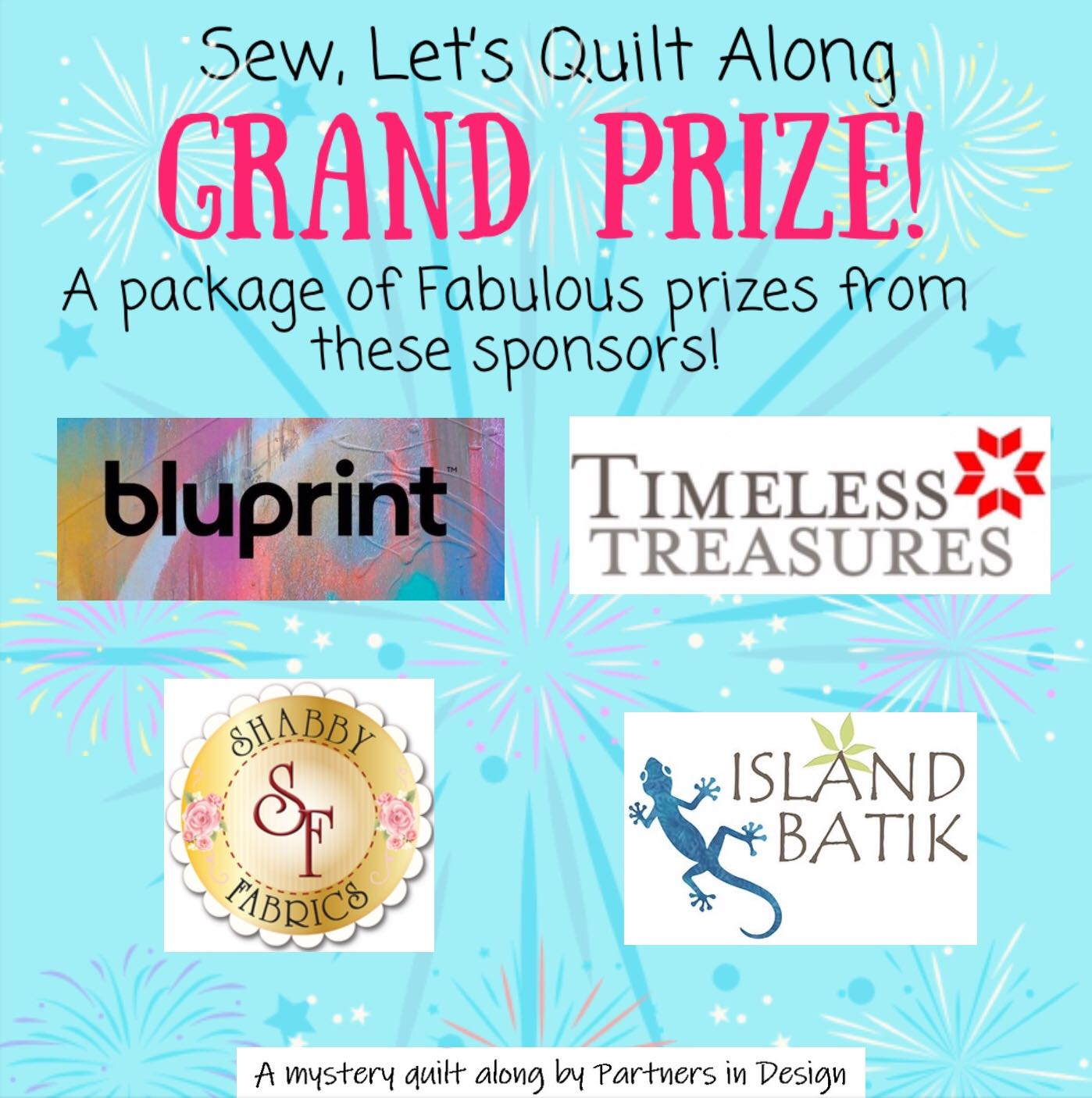 quilt along grand prize sponsors