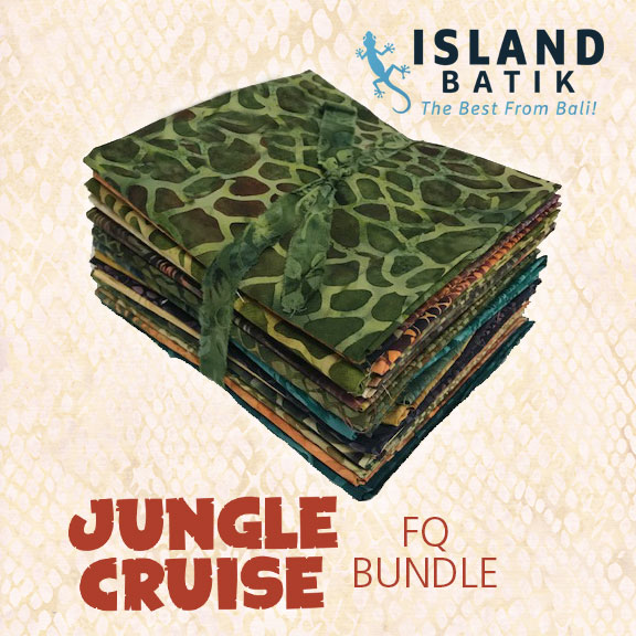 Island Batik Jungle Cruise fat quarter bundle