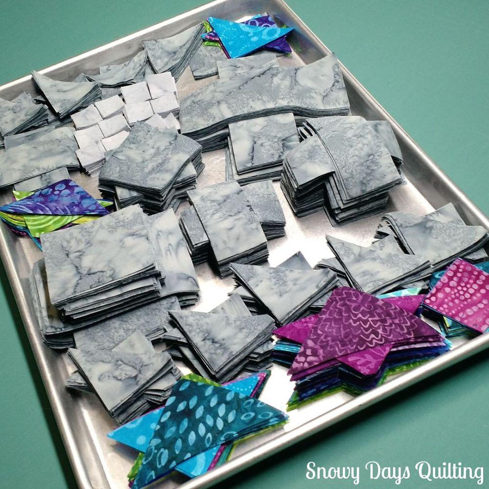 organized fabric stacks