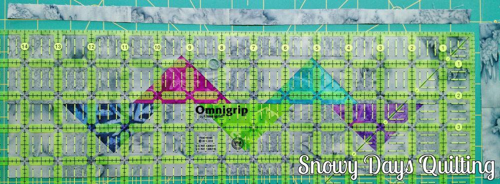 centering quilt block for trimming