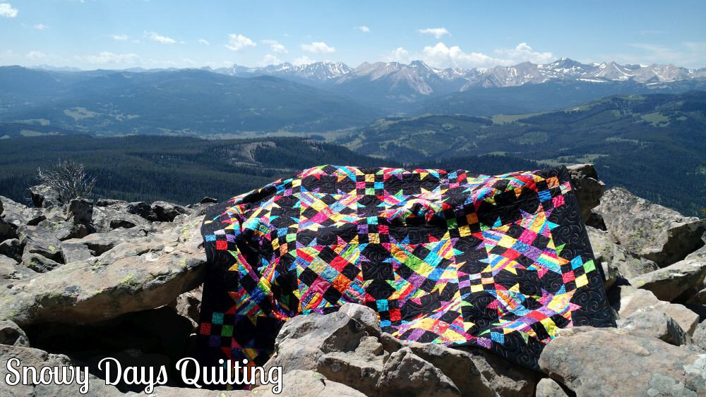 rainbow talkin turkey quilt
