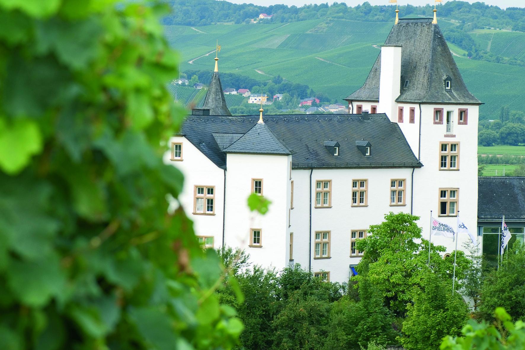 Digne des contes de fées, le château édifié au XIème siècle s'impose parmi les vignes