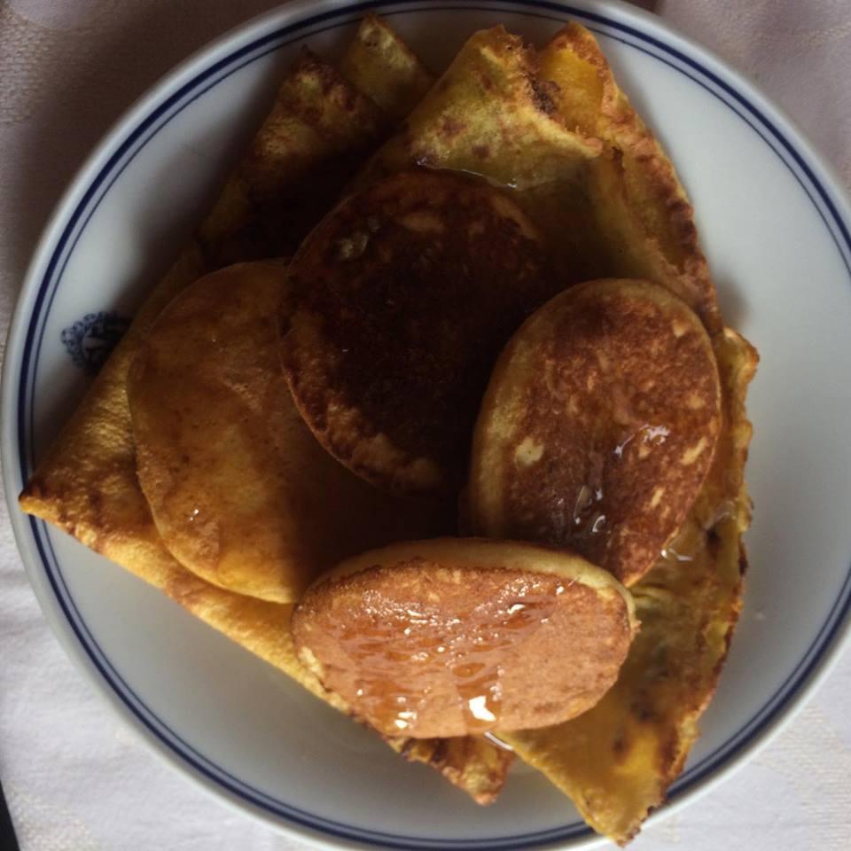 Crèpes & pancakes, sirop d'érable