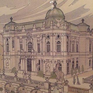 MÉDAILLE D'ARGENT À L'EXPOSITION UNIVERSELLE POUR LA DÉCORATION DU PAVILLON DE LA BOSNIE-HERZÉGOVINE, PARIS 1900.