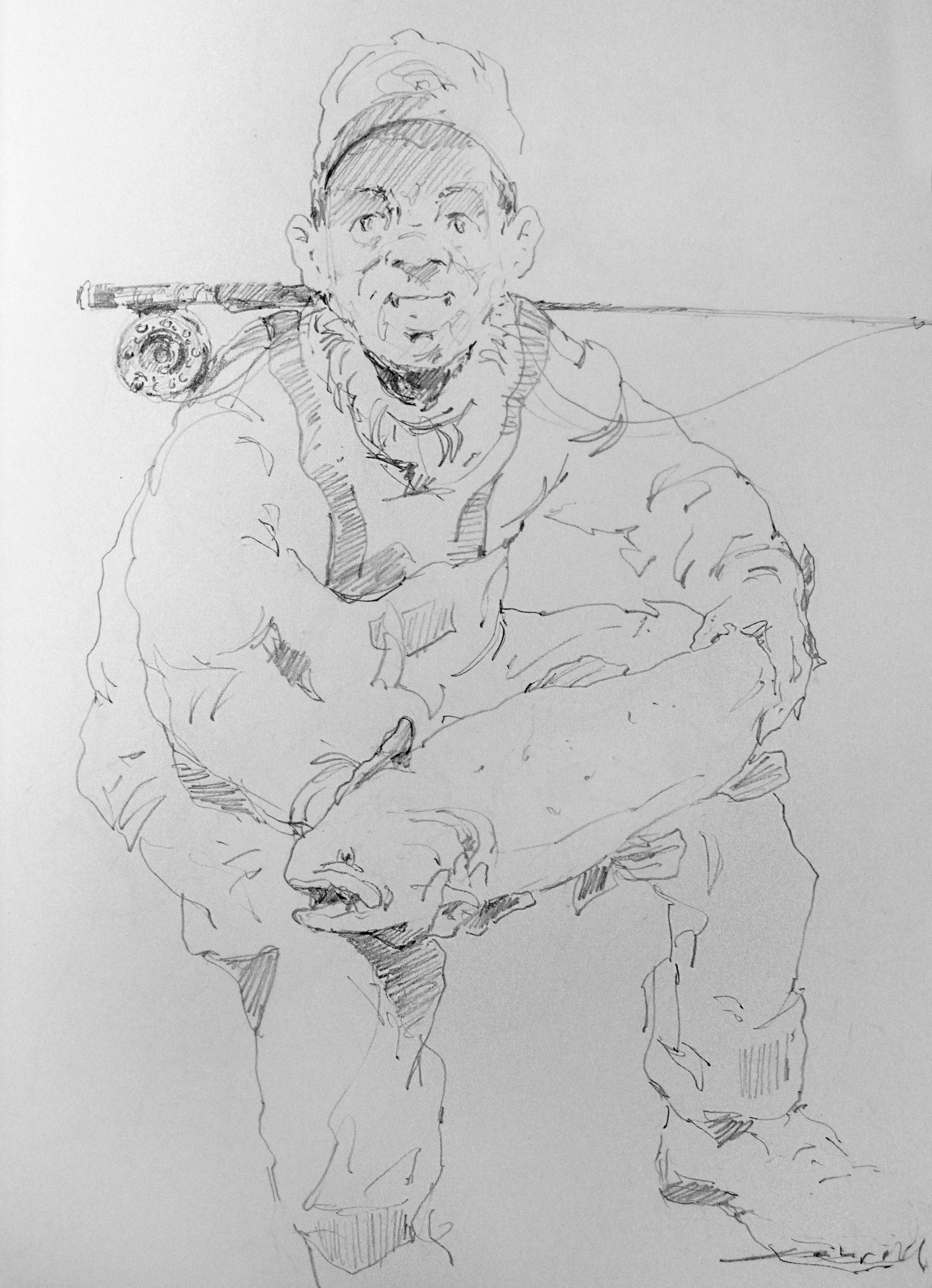 8 x 11.5 – Pencil