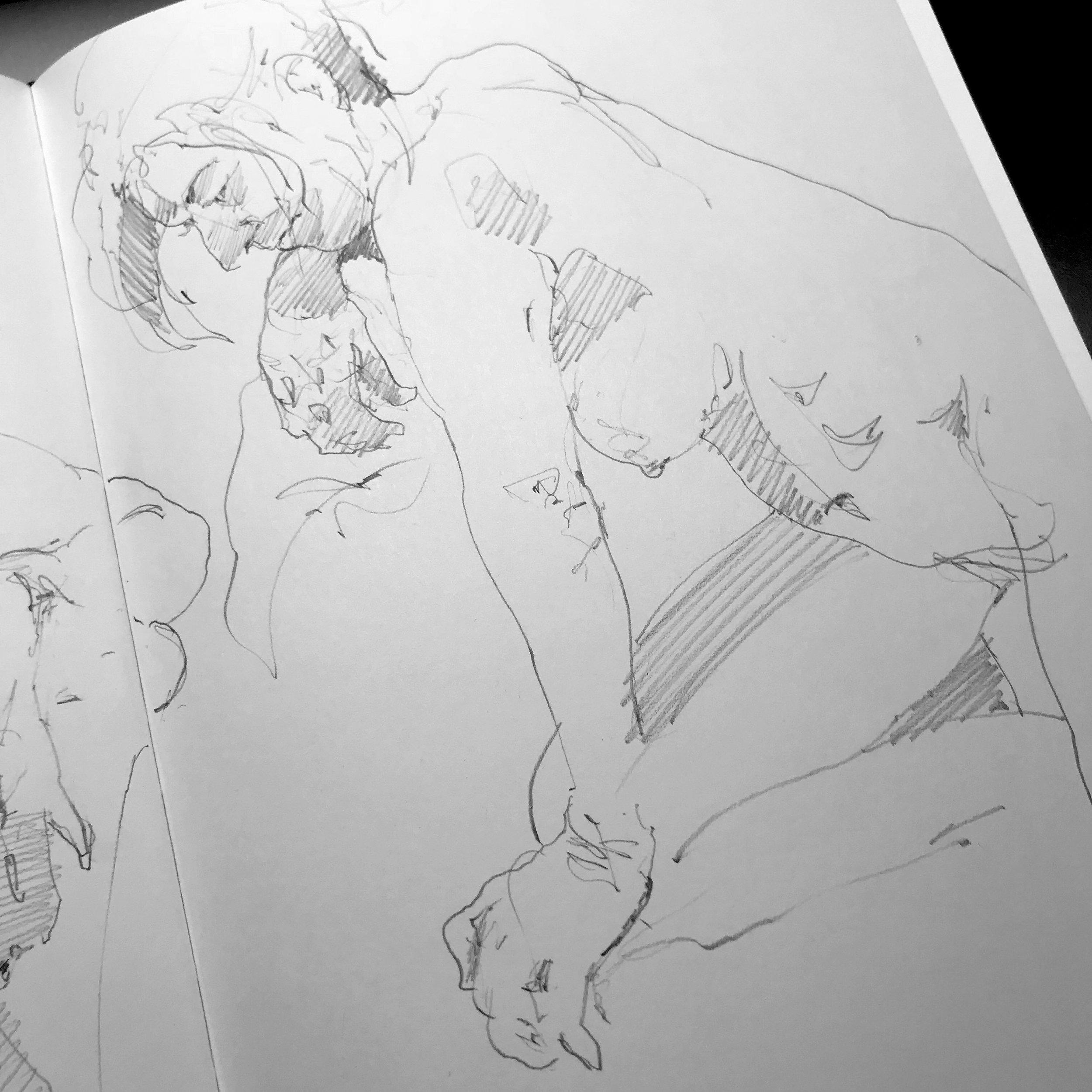 10 minute sketch