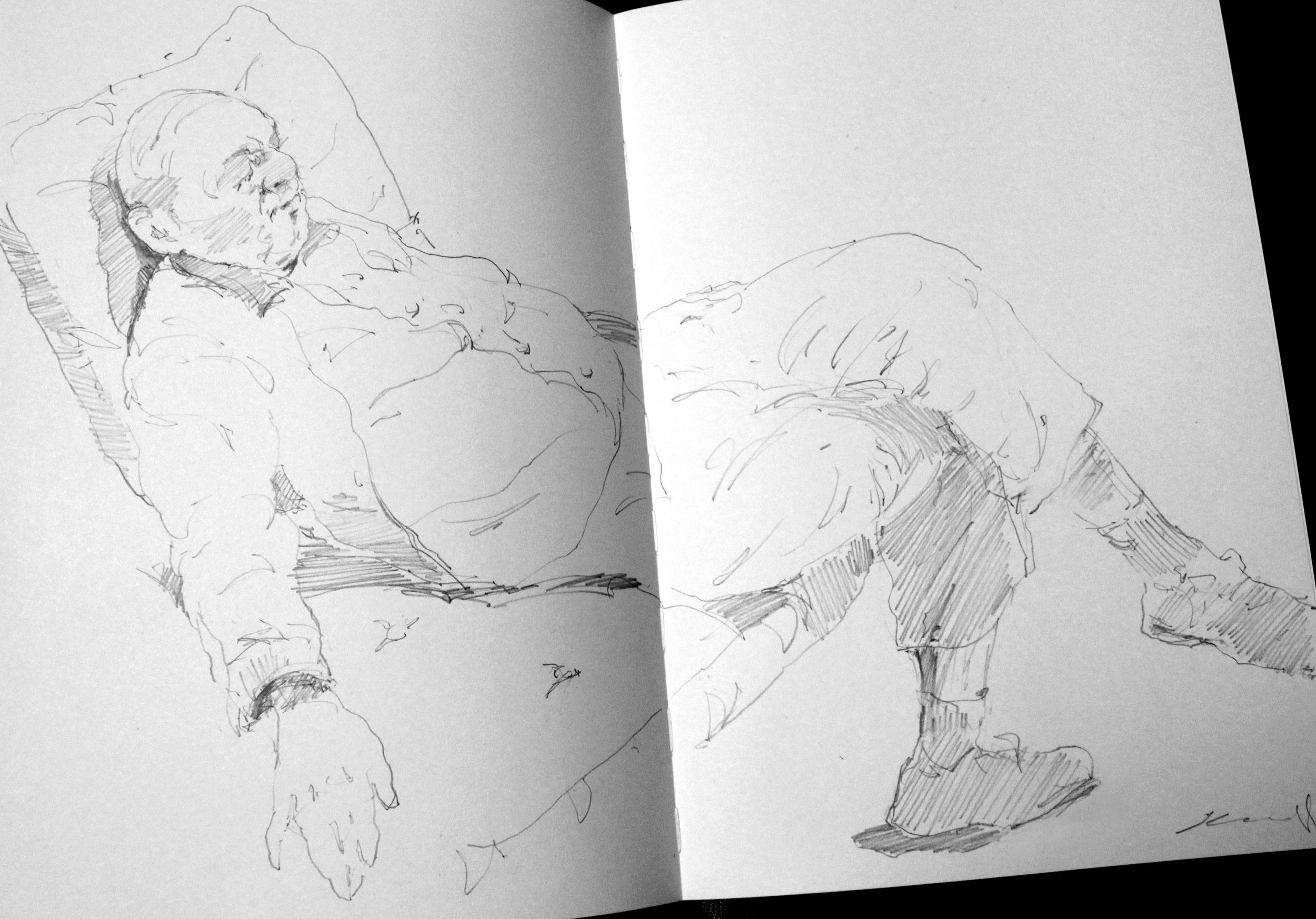 16 x 11.5 – Pencil