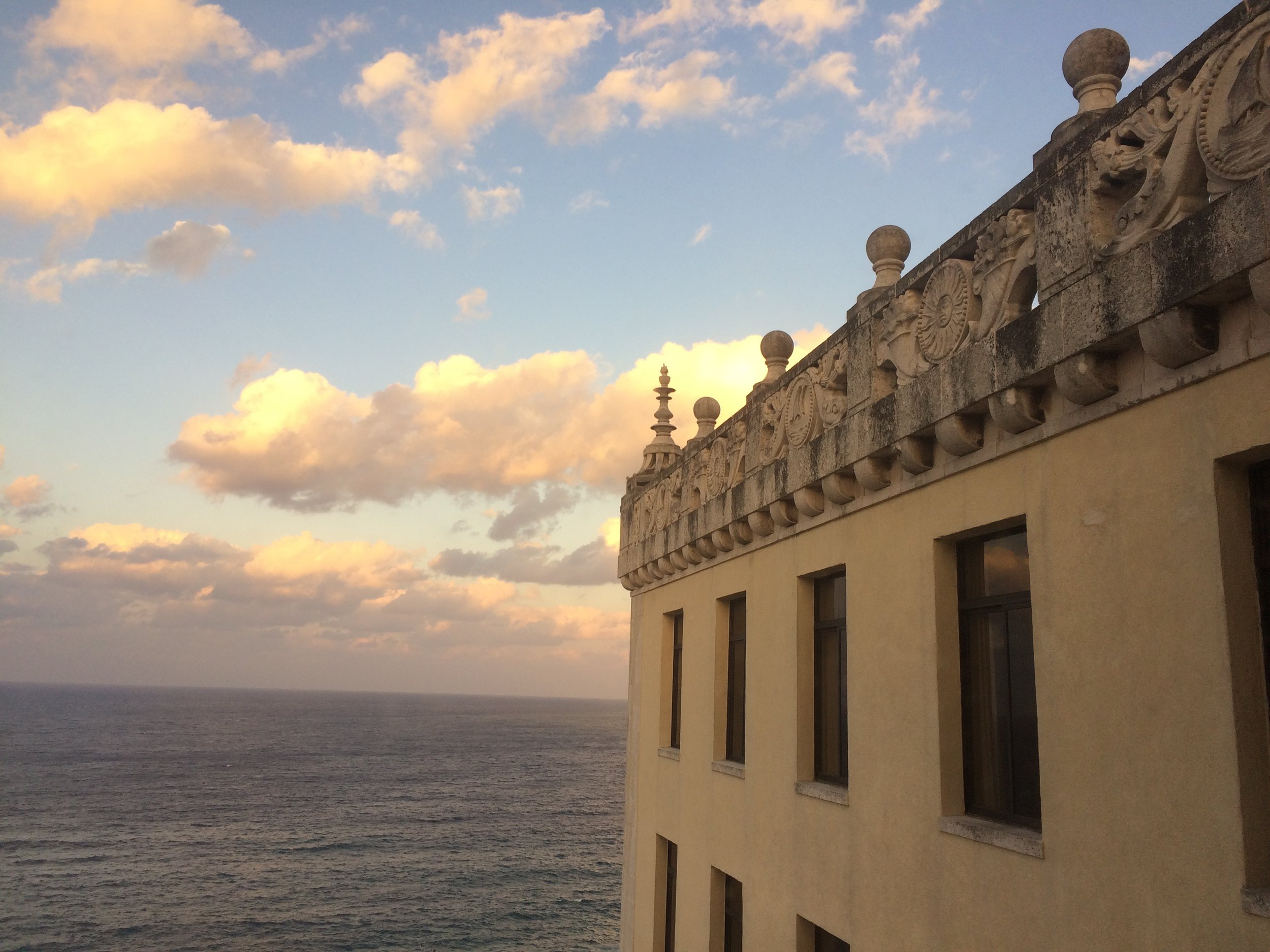 View from our Hotel Nacional room