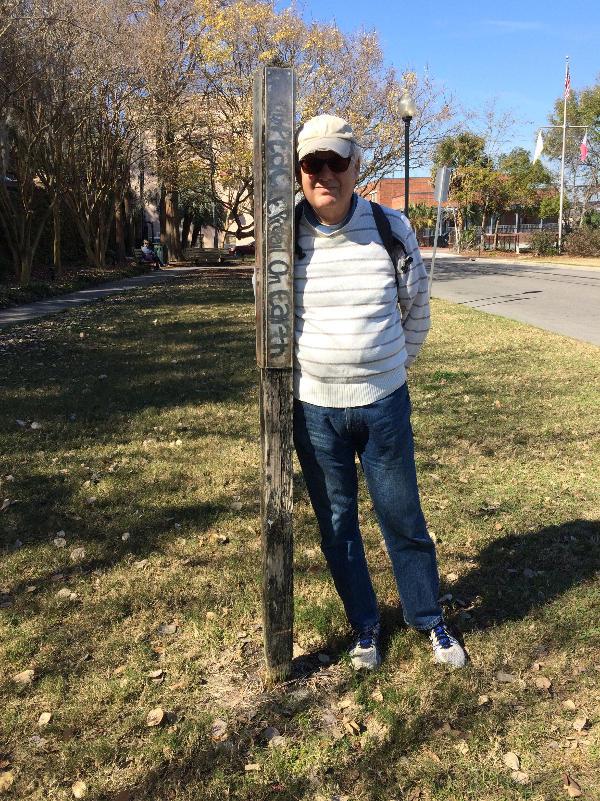 River Street, Savannah Peace Pole