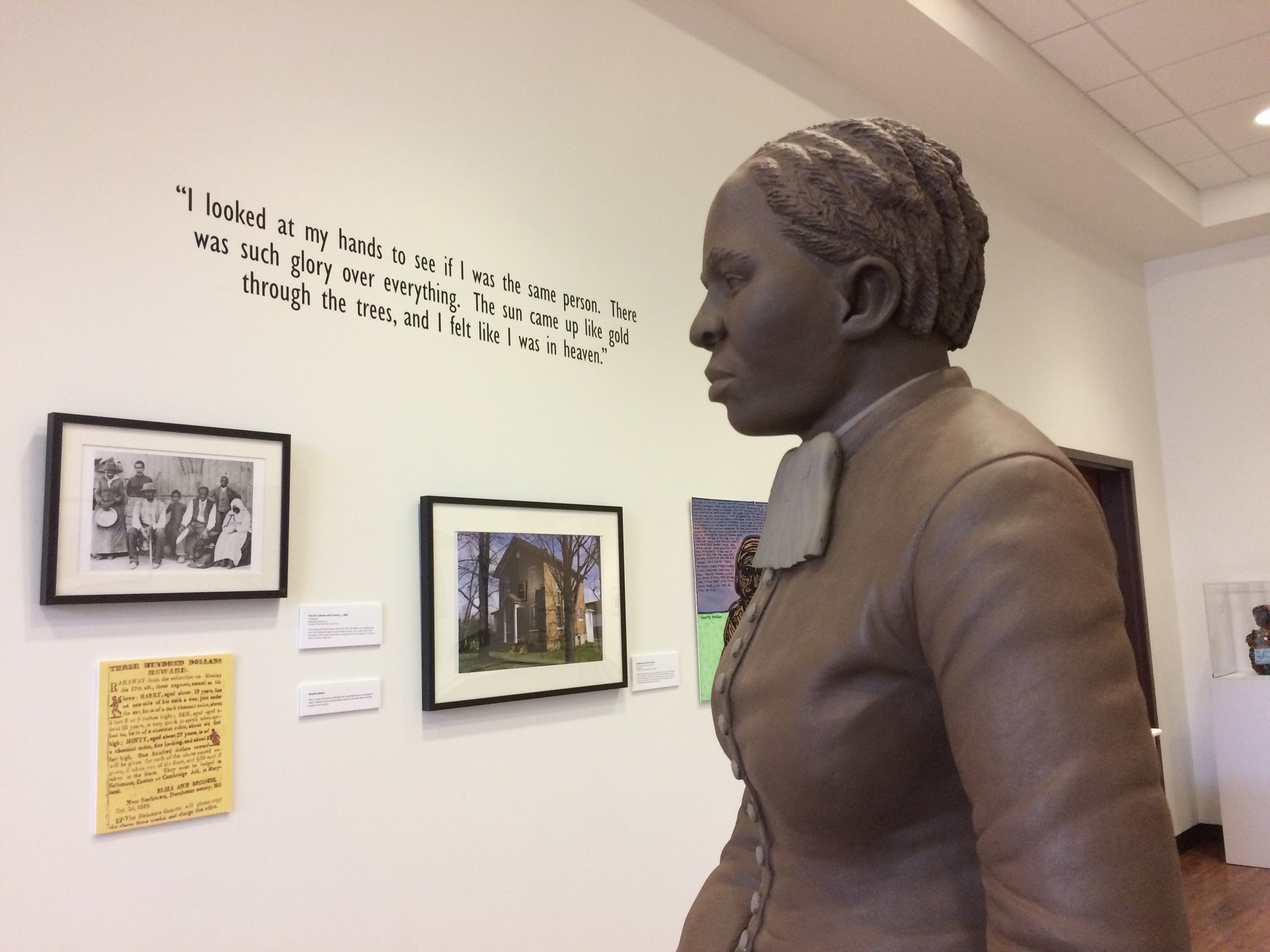 Stopped on the way home in Macon to visit the Tubman Museum.