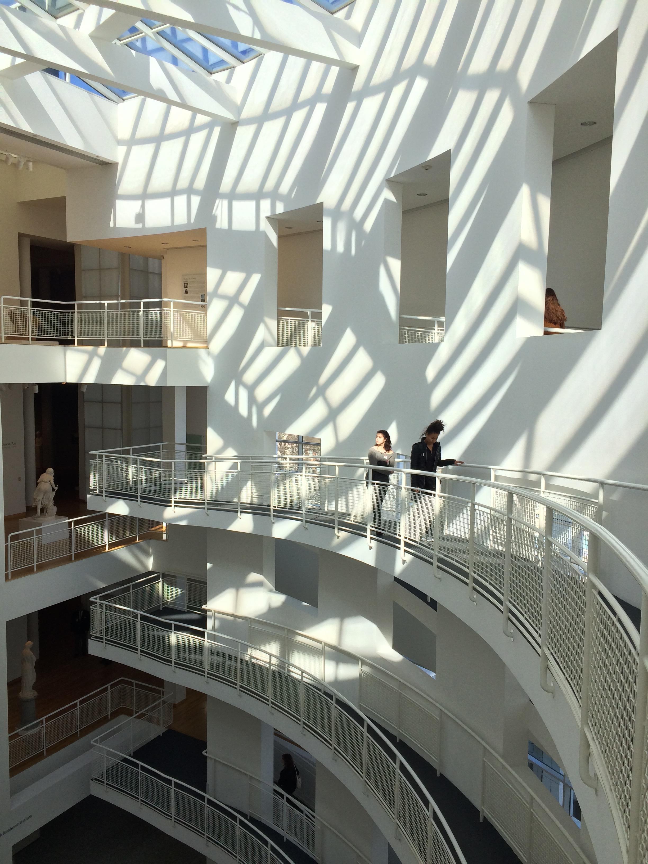 Interior of the High Museum of Art in Atlanta