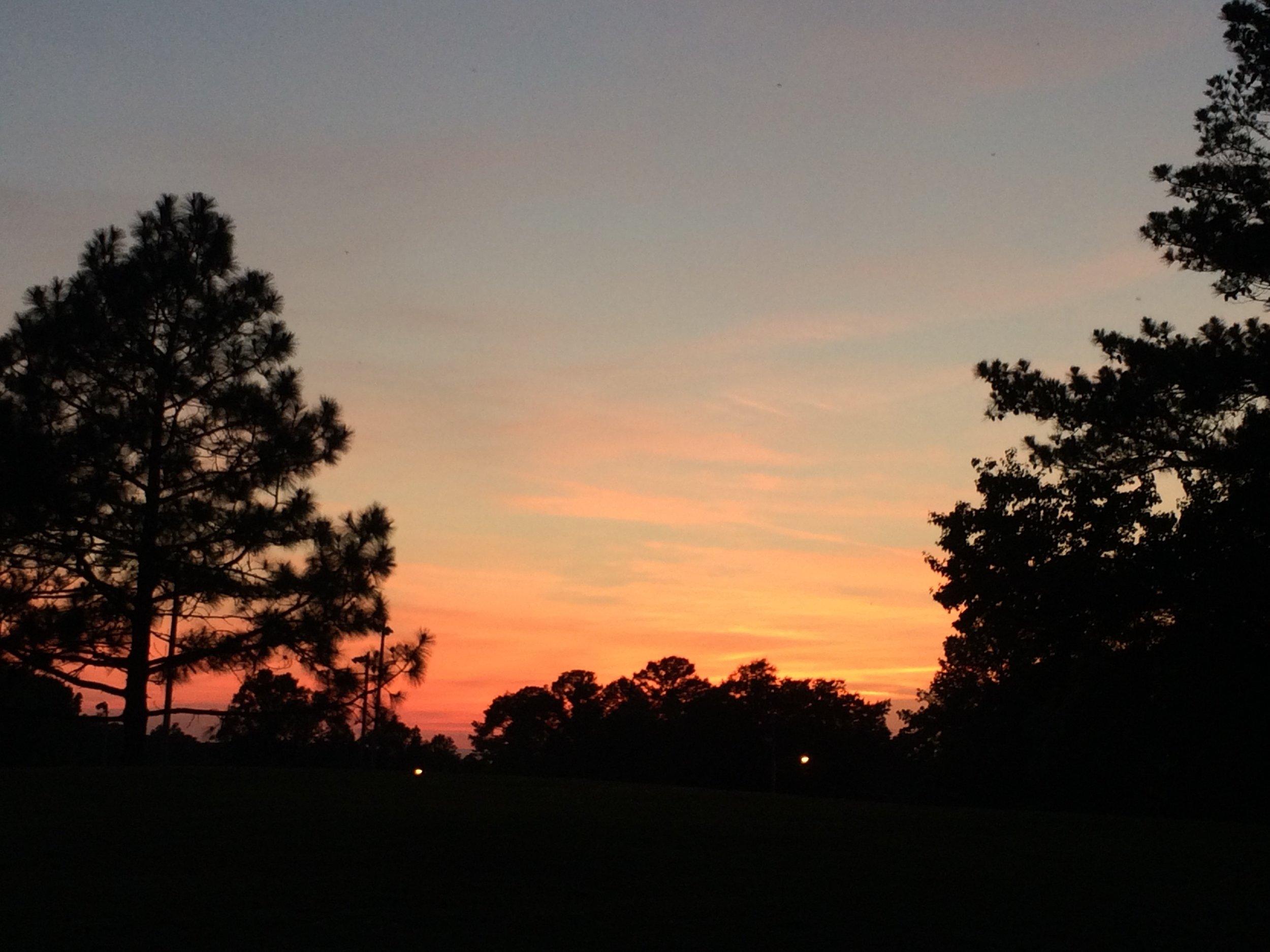 Opelika walk sunset
