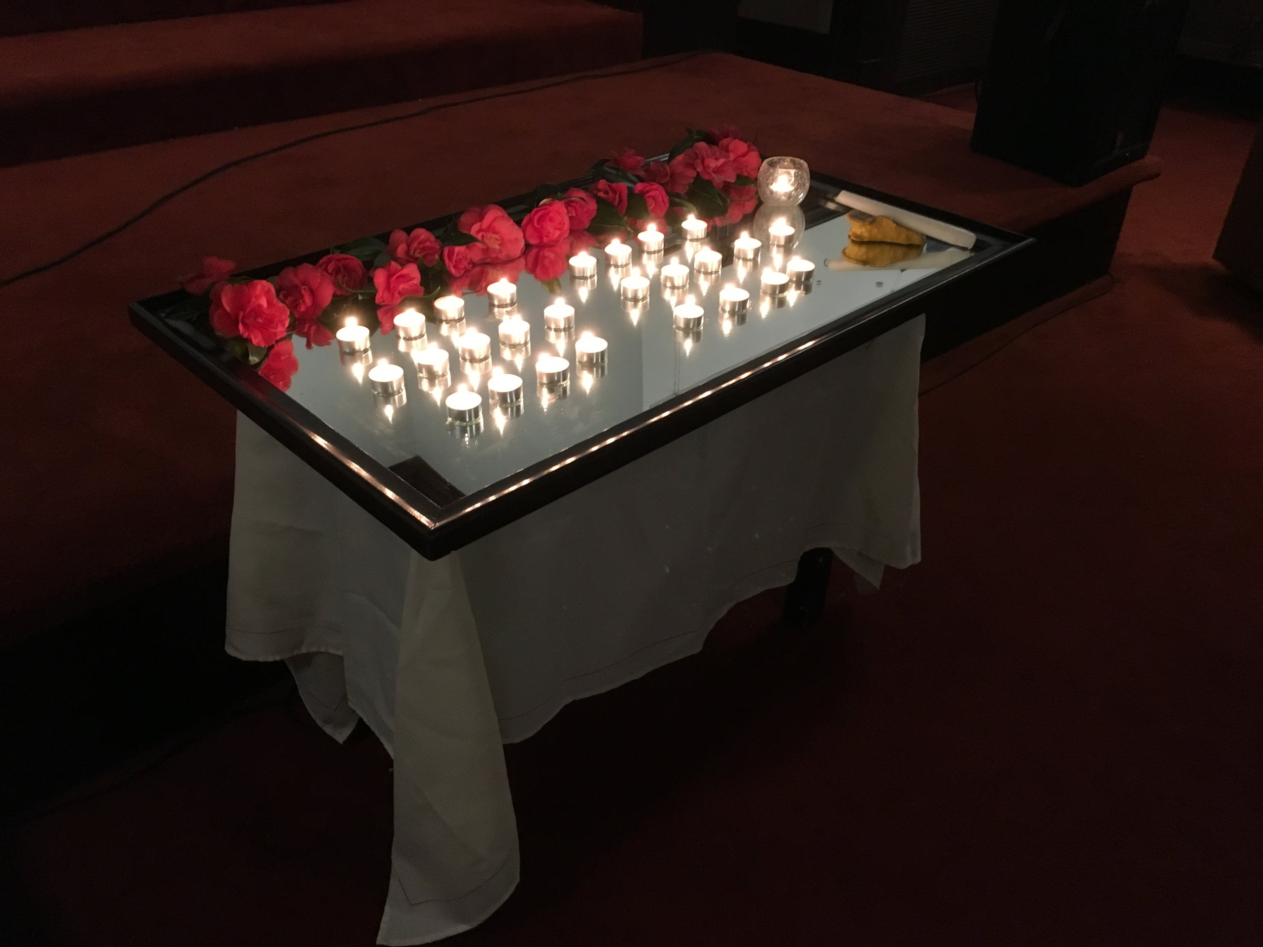 The Fellowship hosted a vigil remembering the victims of Sandy Hook, five years ago Dec. 14.