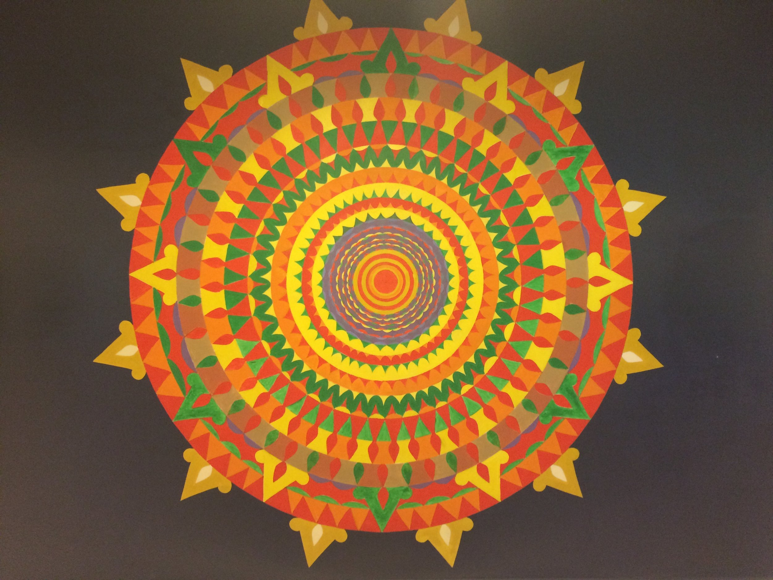 """Symposium and field trip with AU historians to Pasaquan (""""visionary art environment""""), in Buena Vista. GA"""