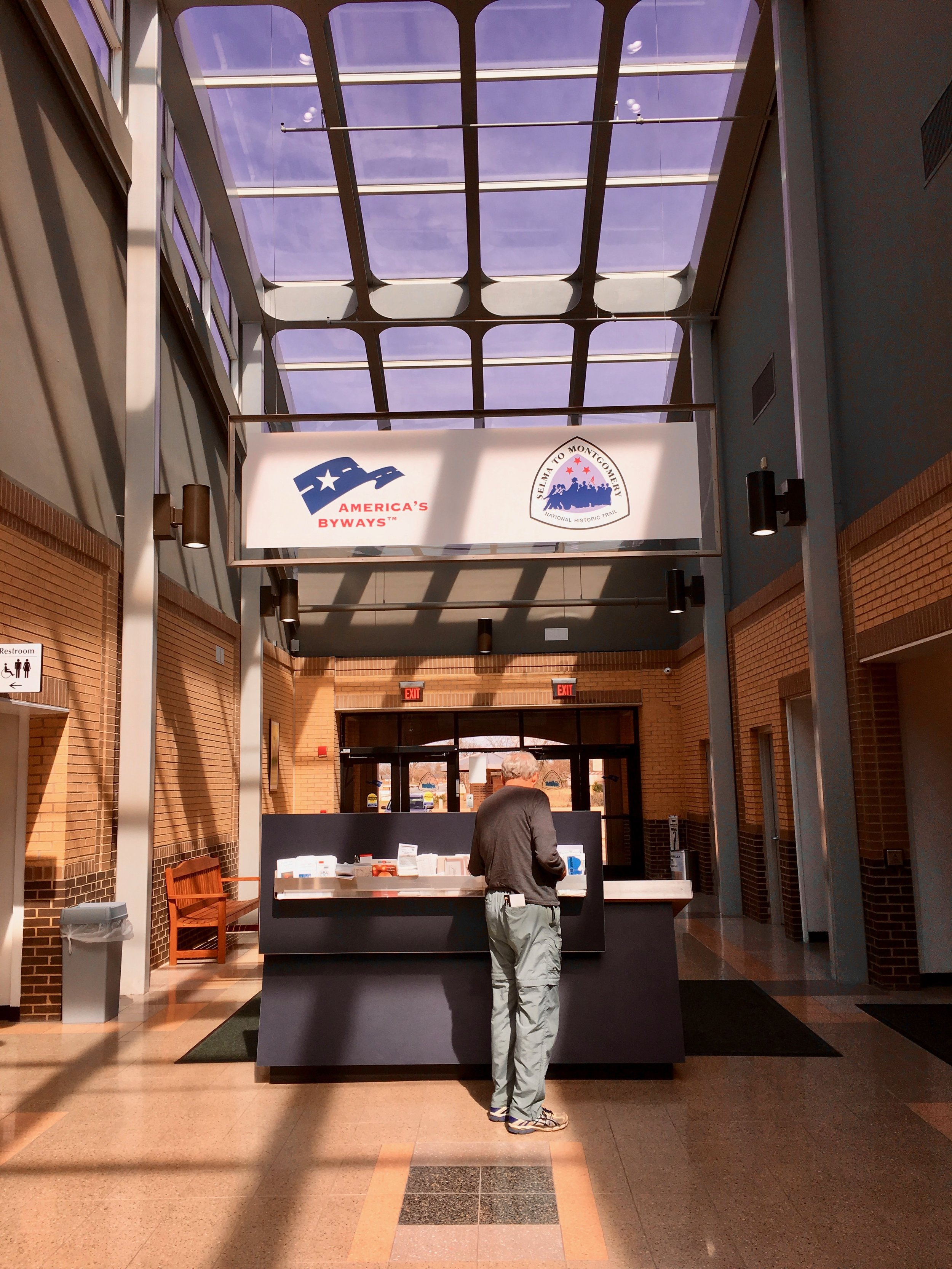 National Park Service Lowndes Interpretive Center—halfway between Selma and Montgomery