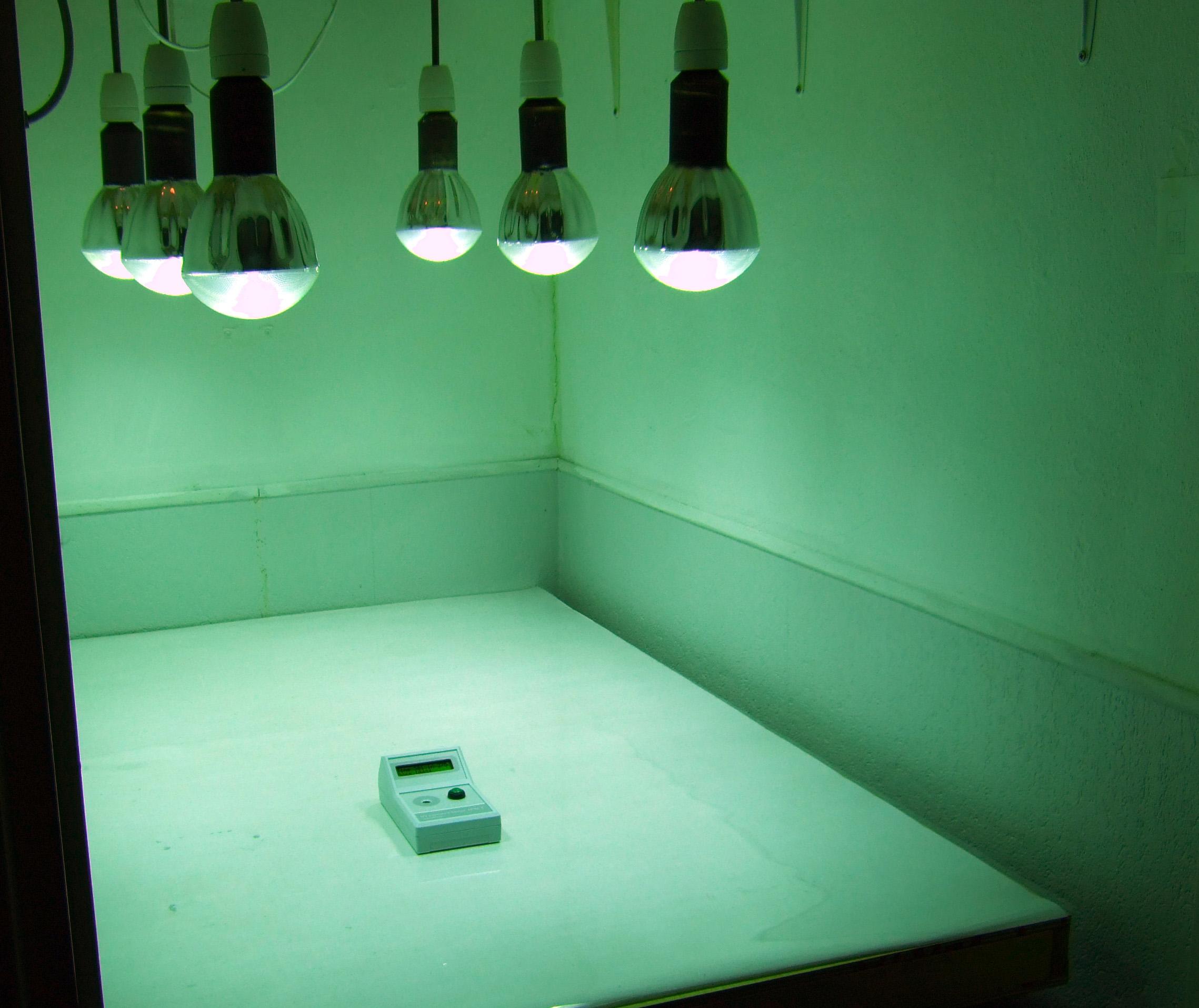 PPM-1 used for testing uniformity of UV source - courtesy of   Kees Brandenburg  , Netherlands