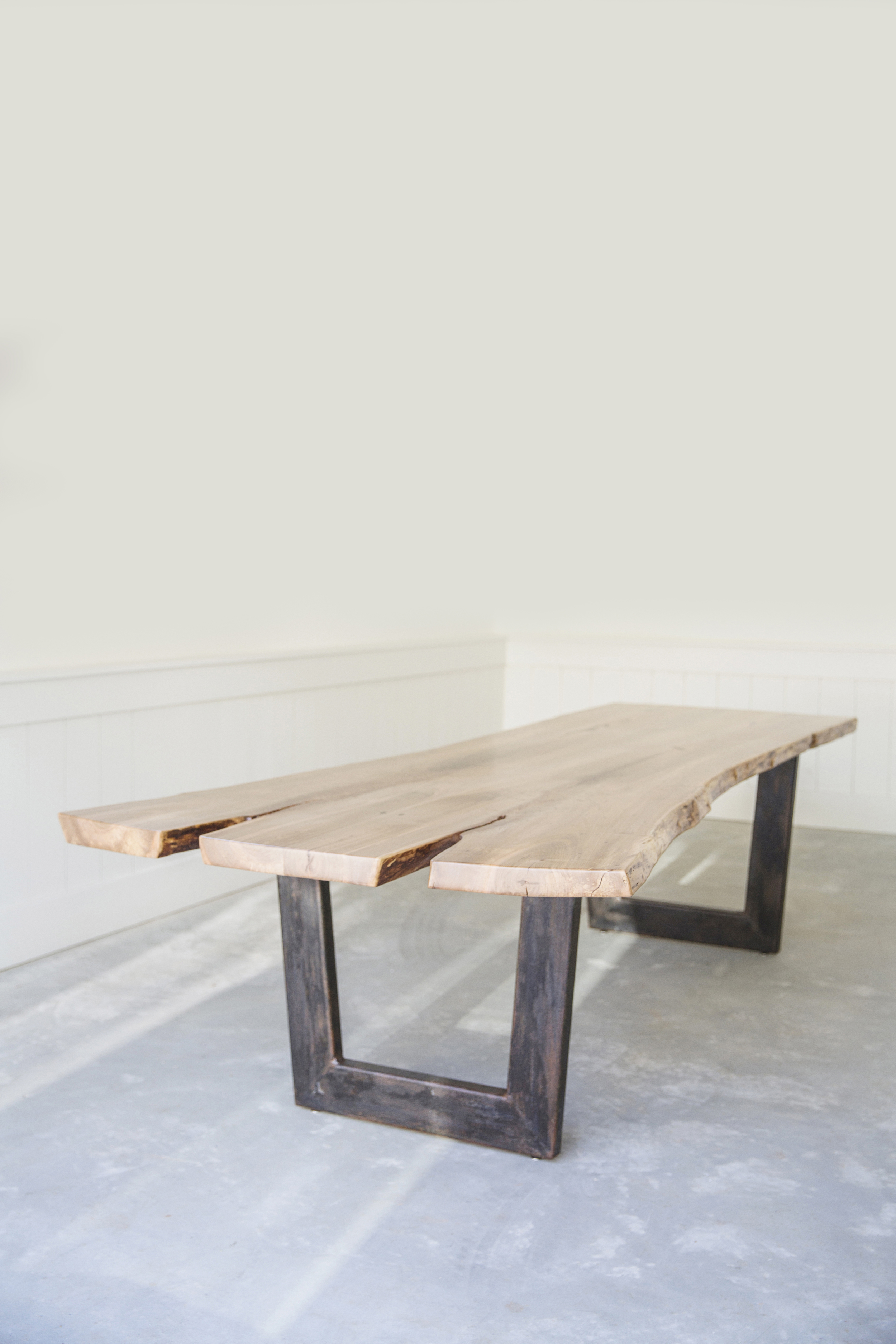 WoodKith Slab Conference Table