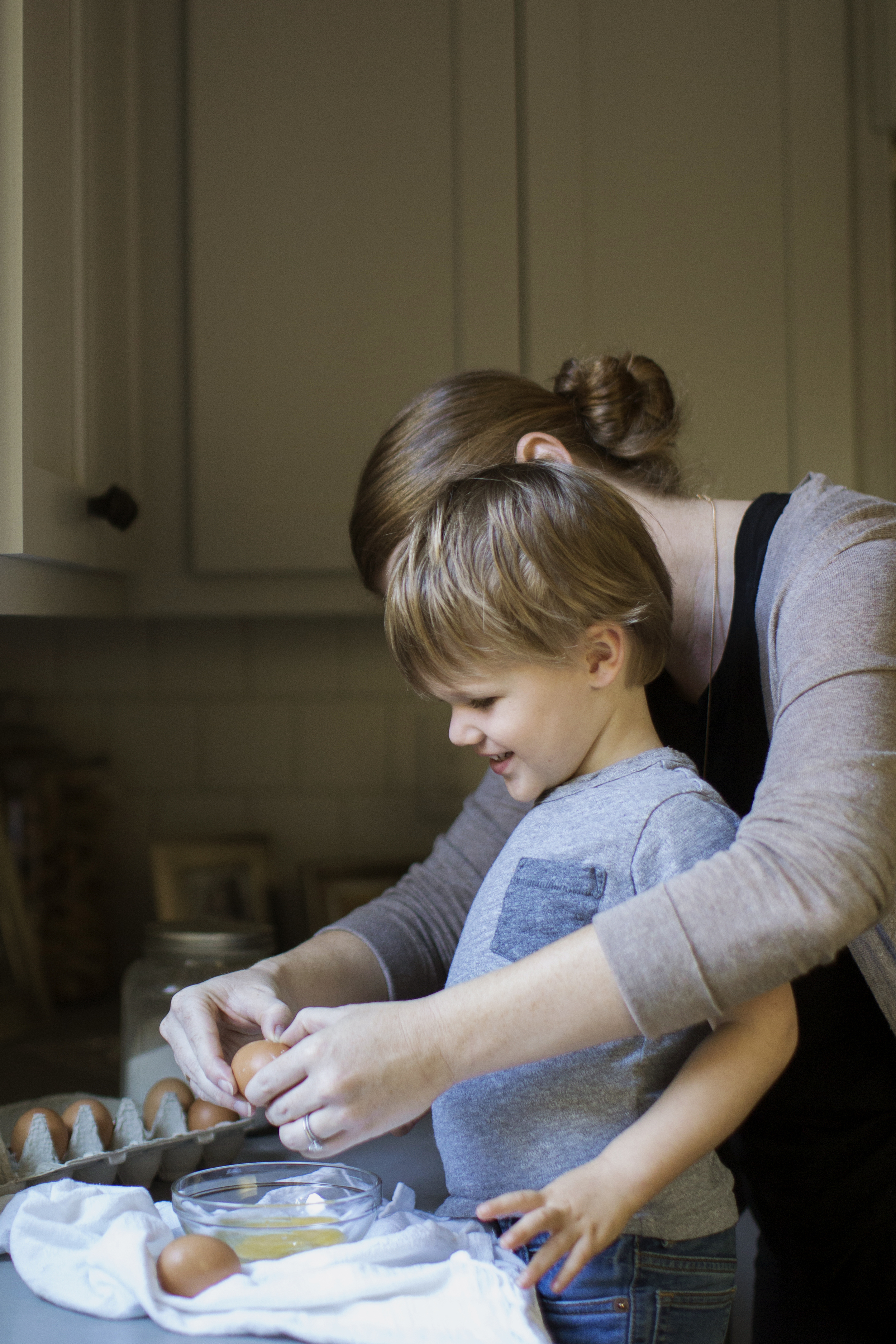 baking with children erica and henry