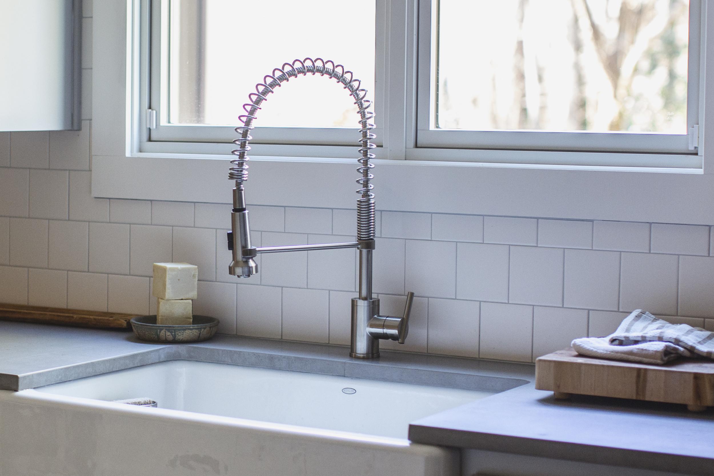 industrial kitchen faucet