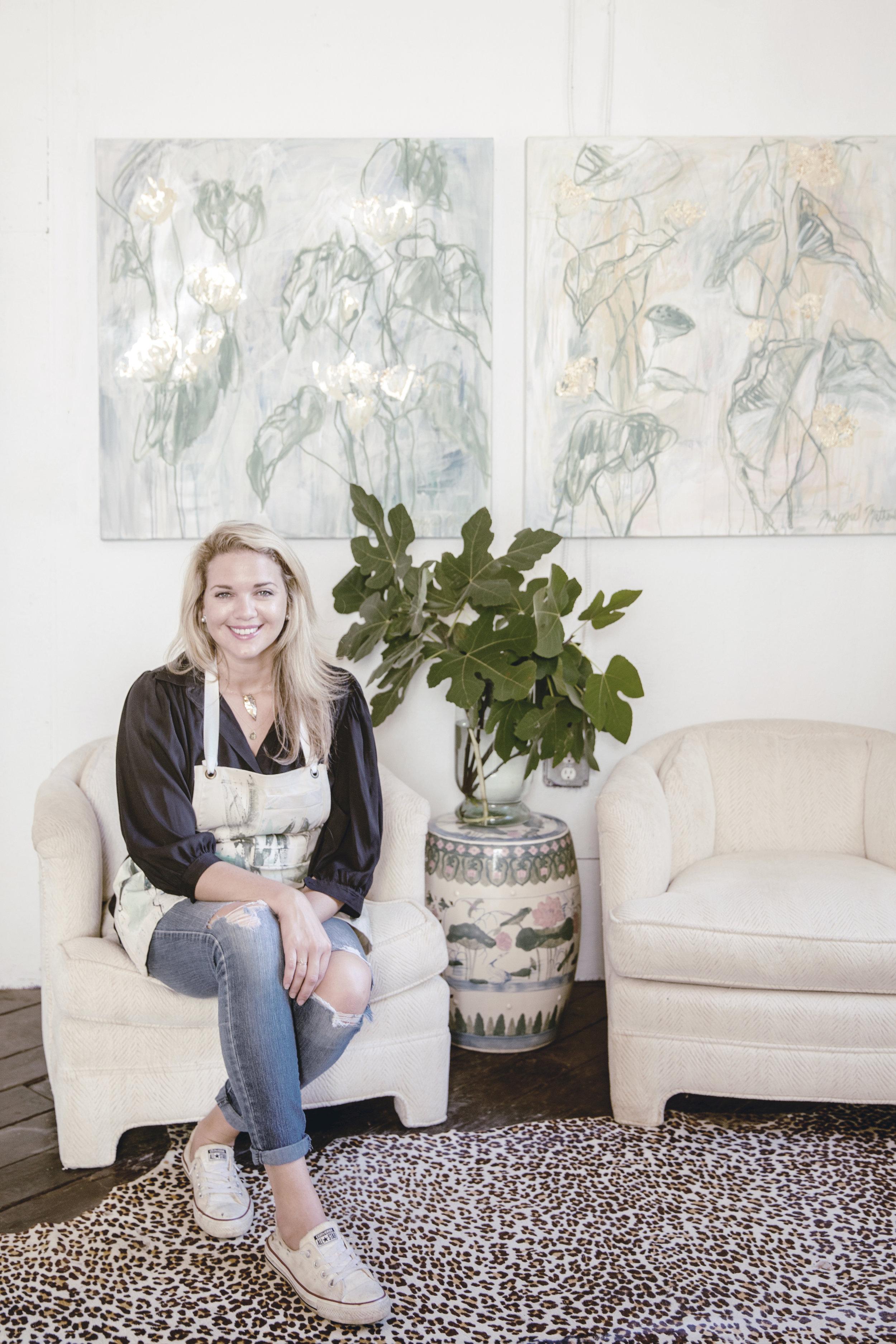 MEET ARTIST MAGGIE MATHEWS