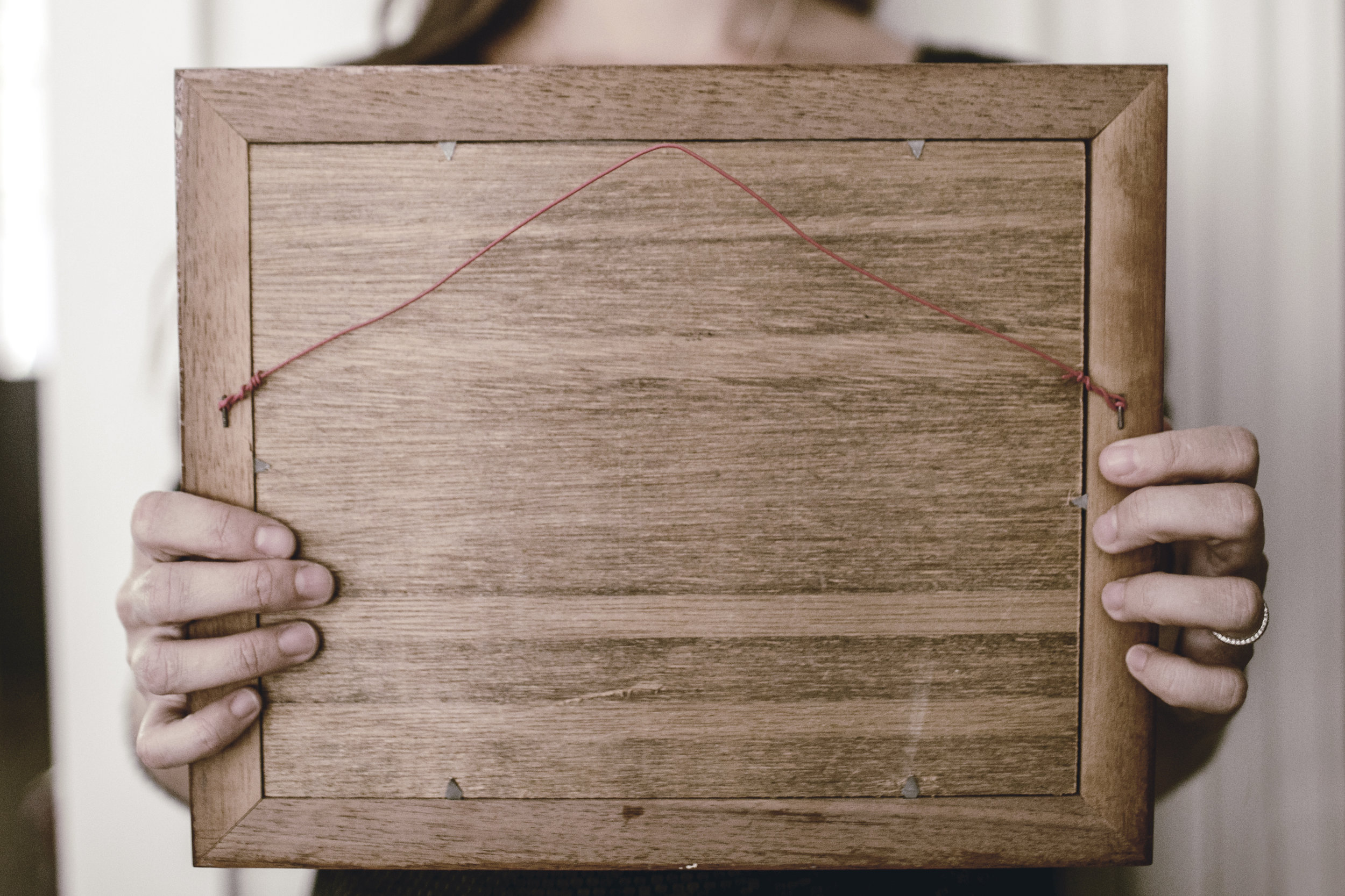 handcrafted wooden photo frames
