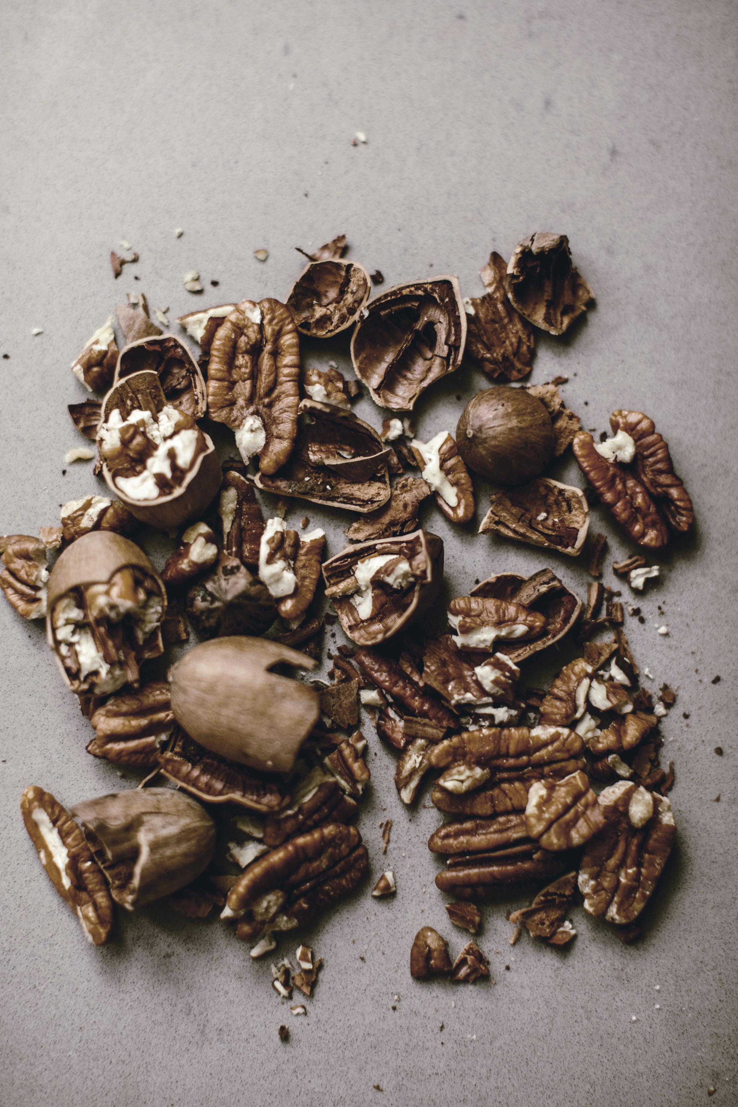 farm fresh cracked + shelled pecans