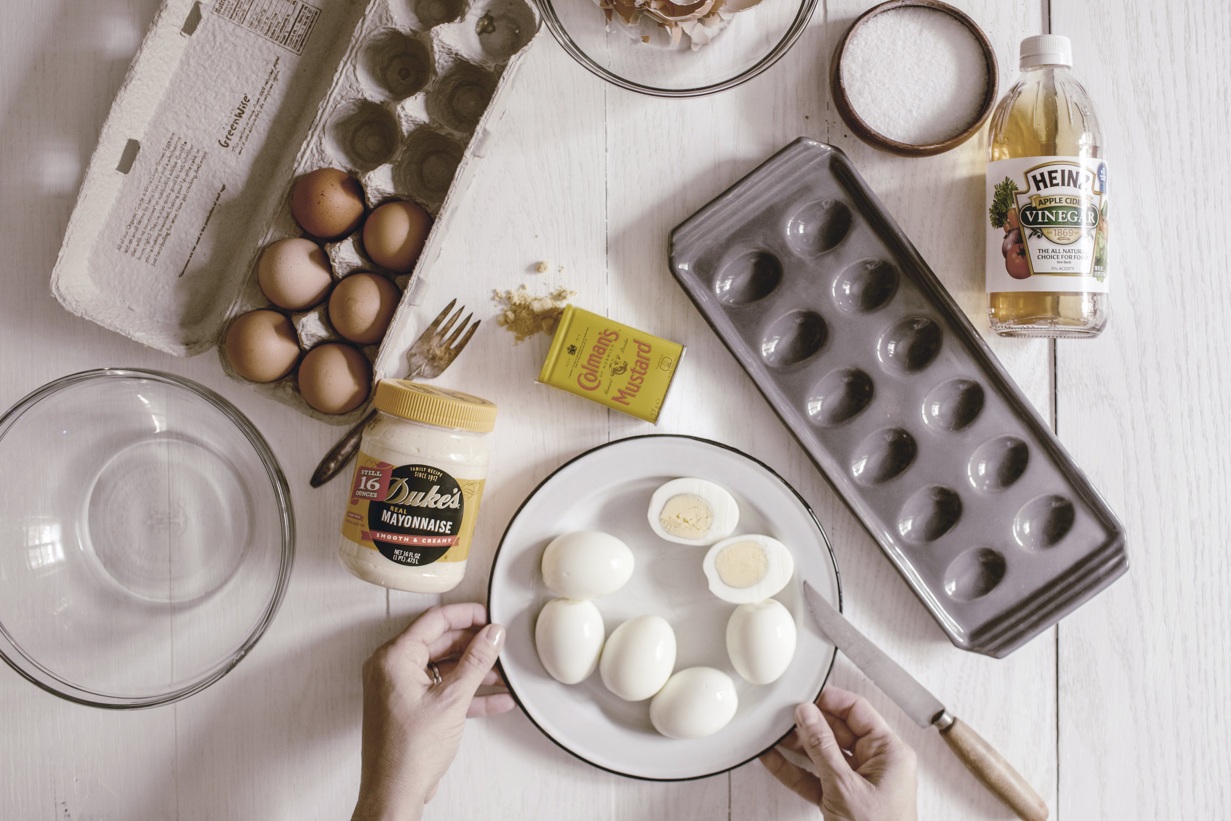 The best Southern Deviled Egg recipe / heirloomed