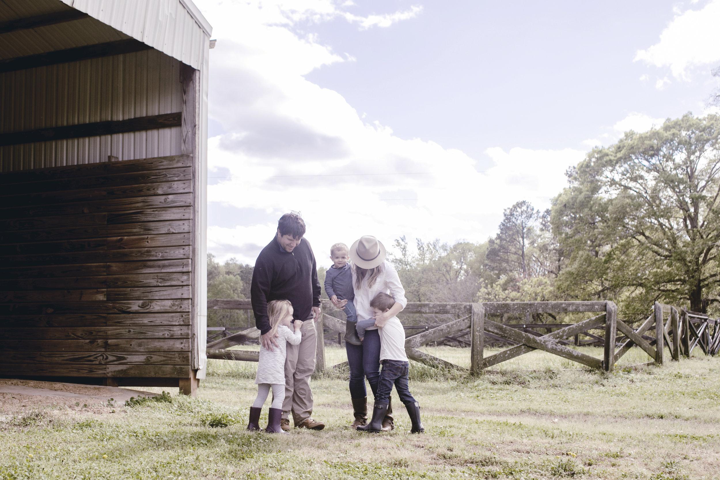family photo at the farm / heirloomed