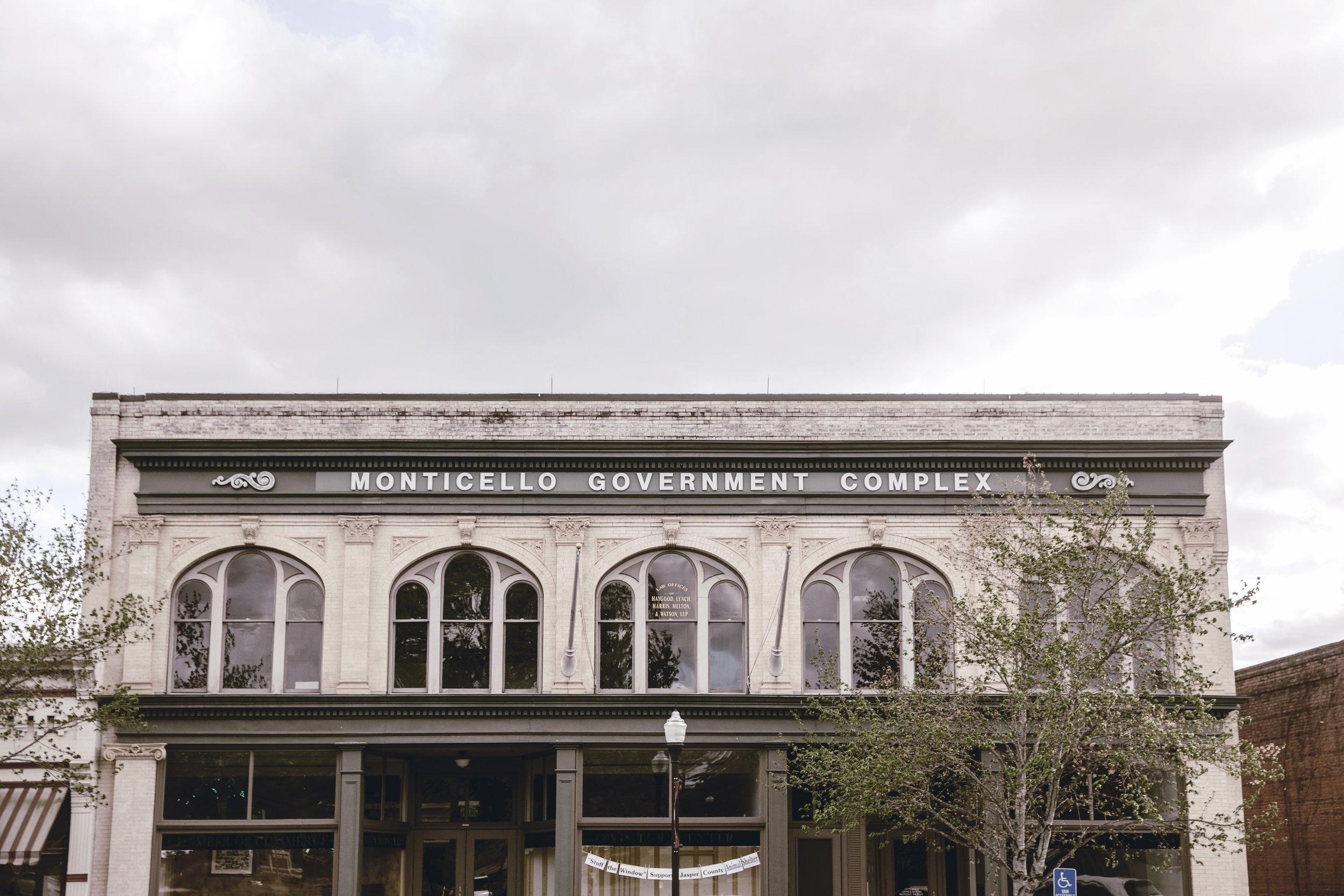 Monticello Government Complex / Benton Supply Co Building / Monticello GA / heirloomed