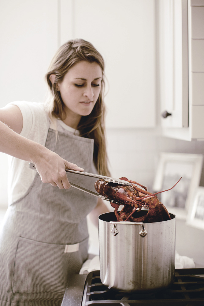 how to steam a live lobster /made from scratch/ heirloomed