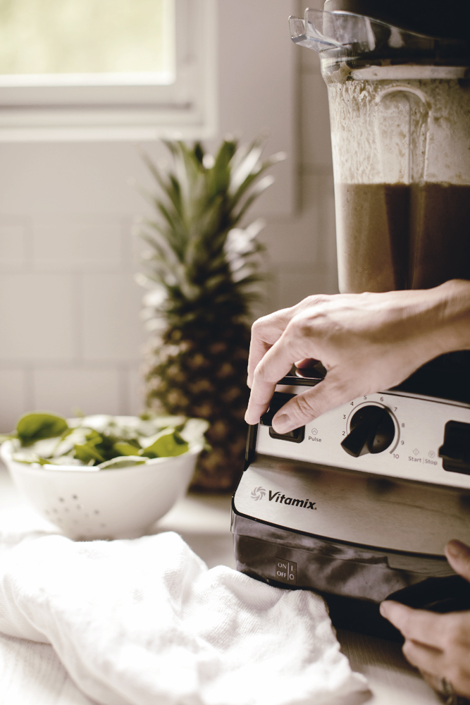 vitamix protein smoothie recipe / heirloomed