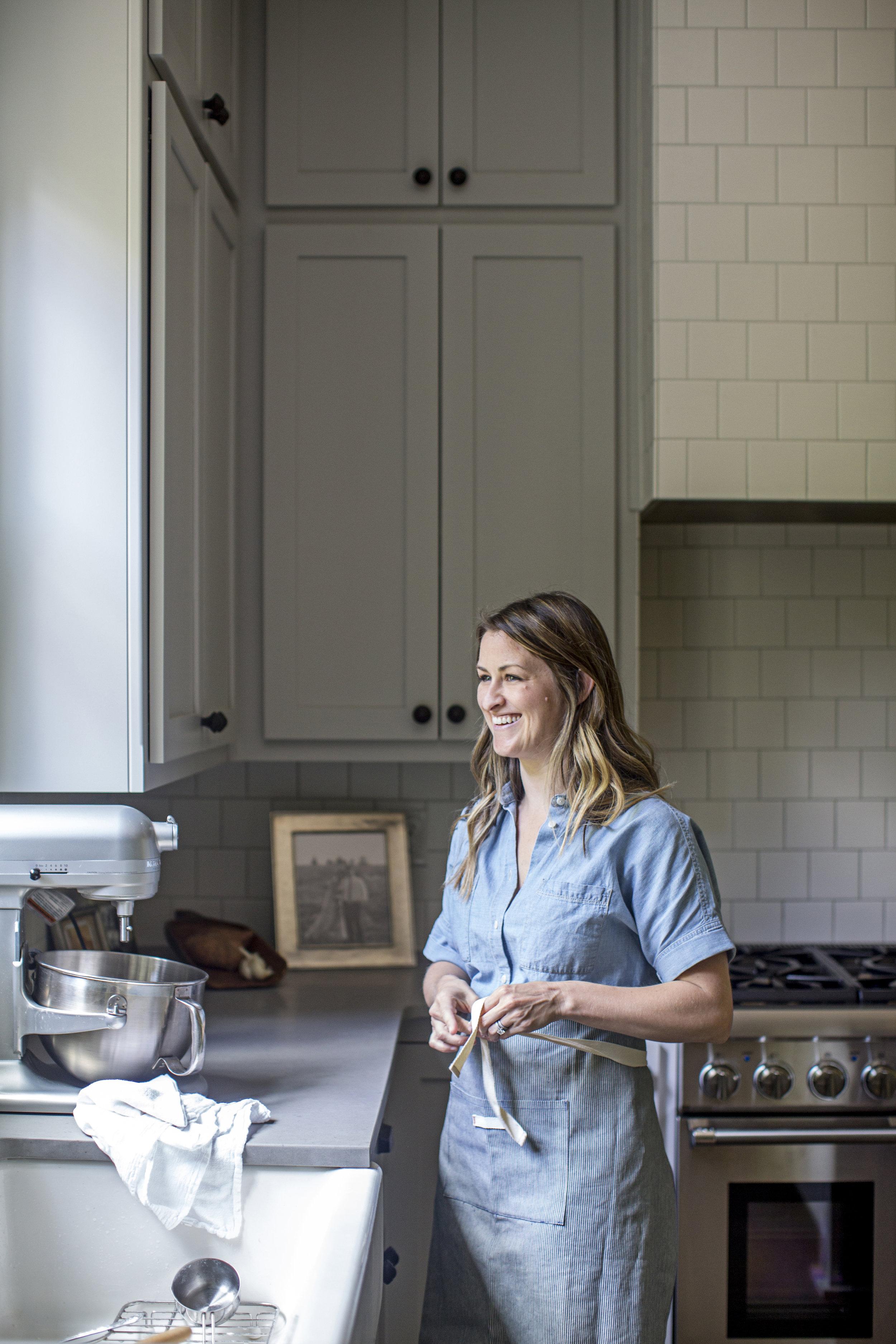 designer ashley schoenith kitchen tour / heirloomed