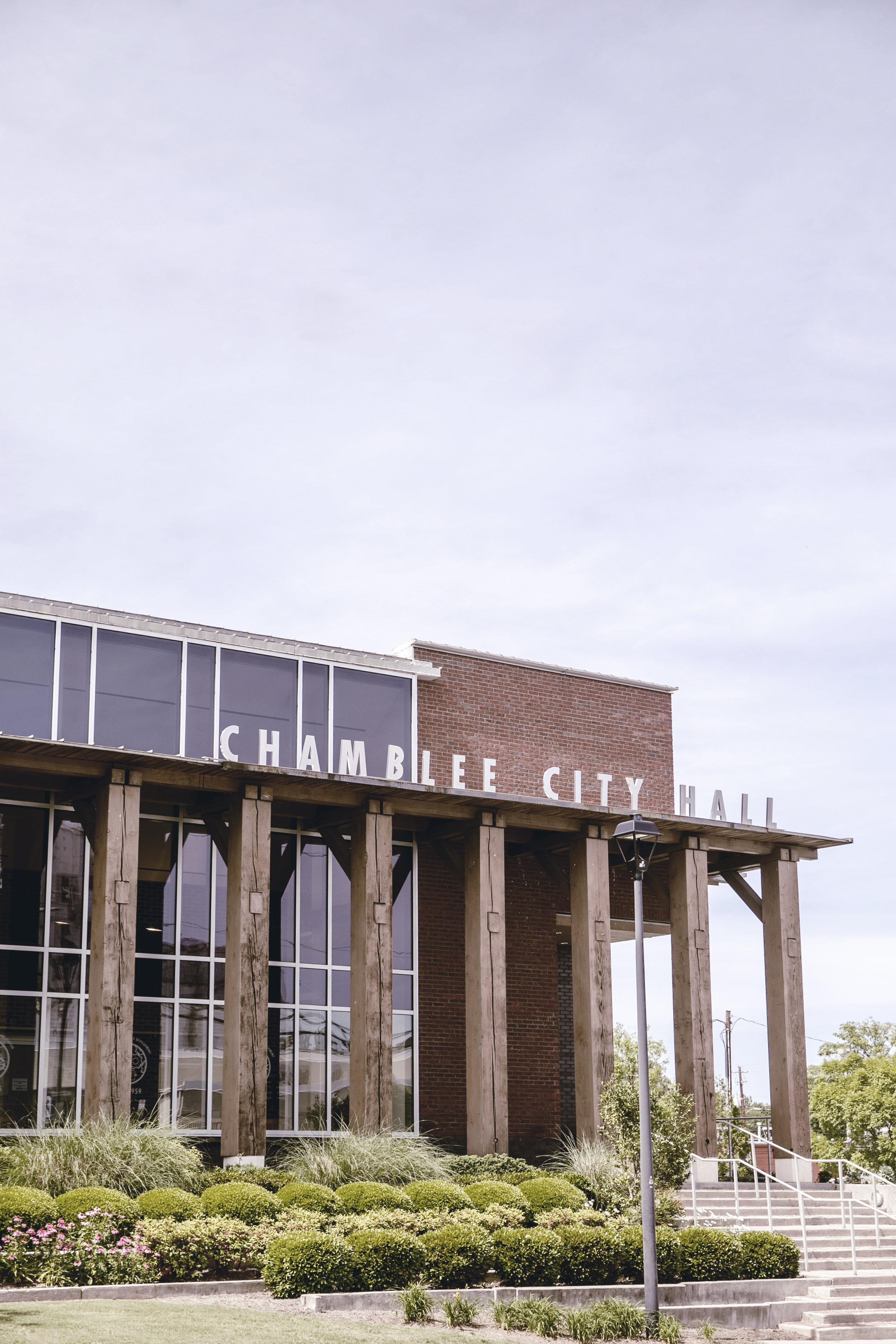 Chamblee Georgia City Hall / Small Town Squares / heirloomed