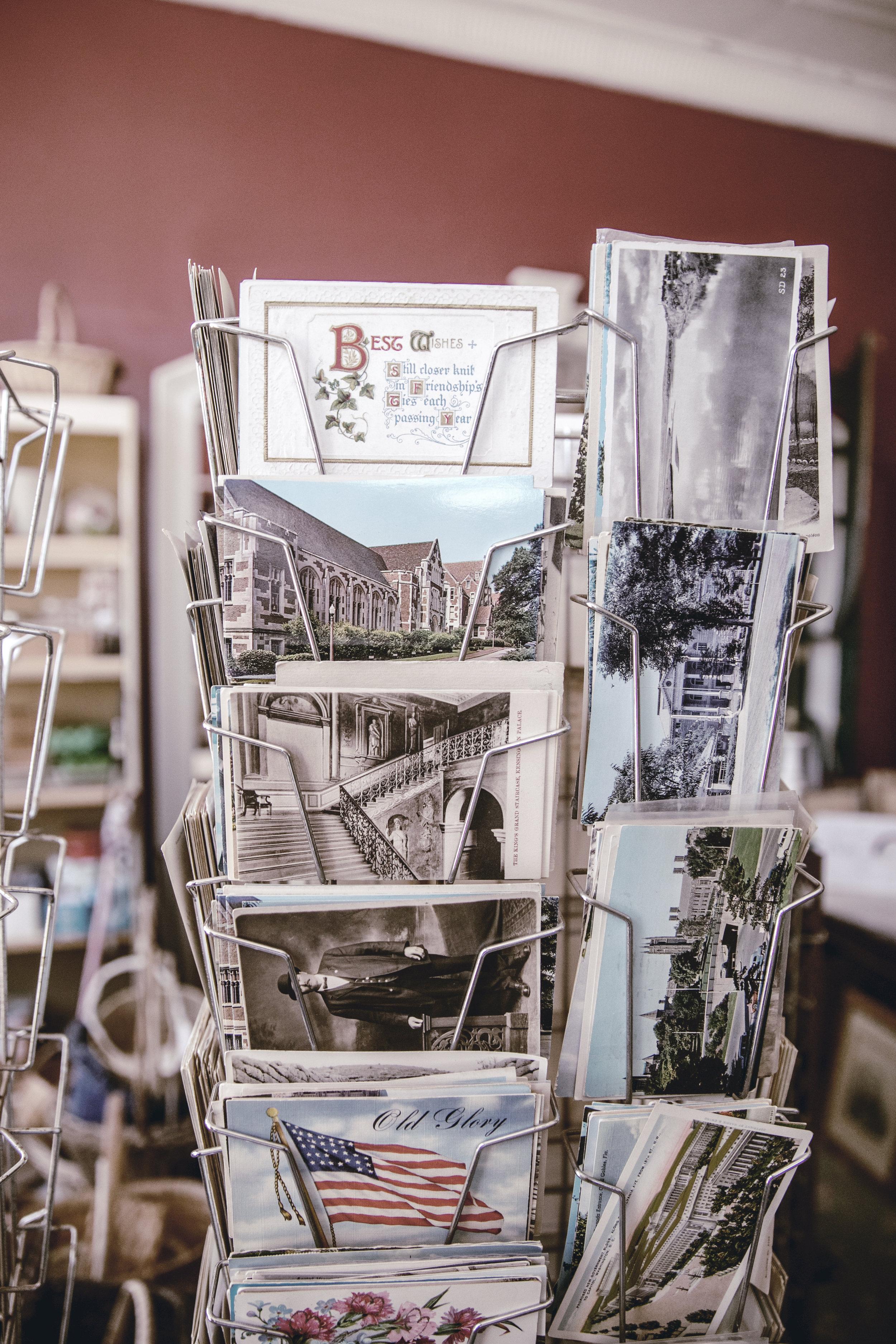 vintage postcards / heirloomed