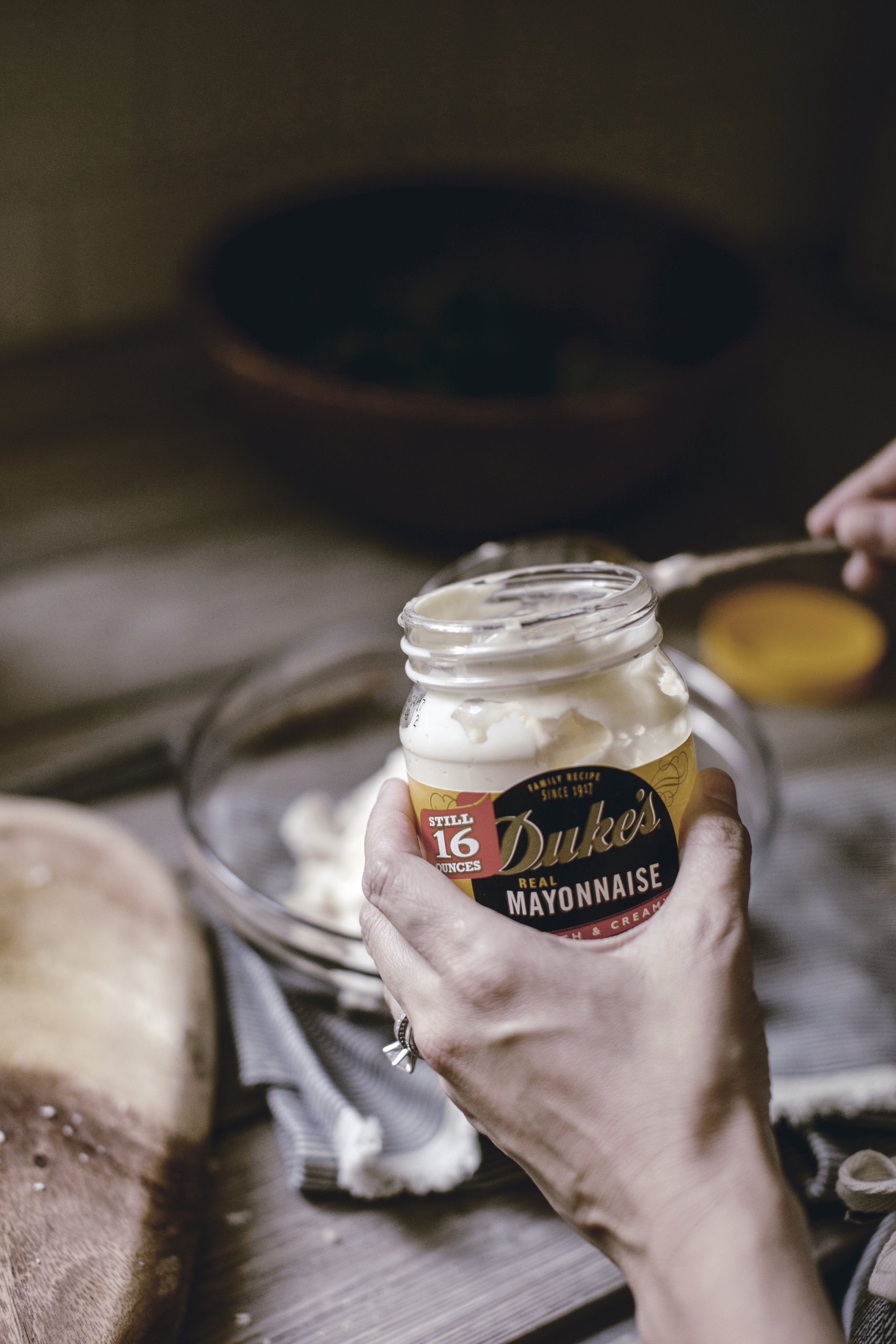 Dukes Mayo for Southern Savory Chicken Salad recipe / heirloomed