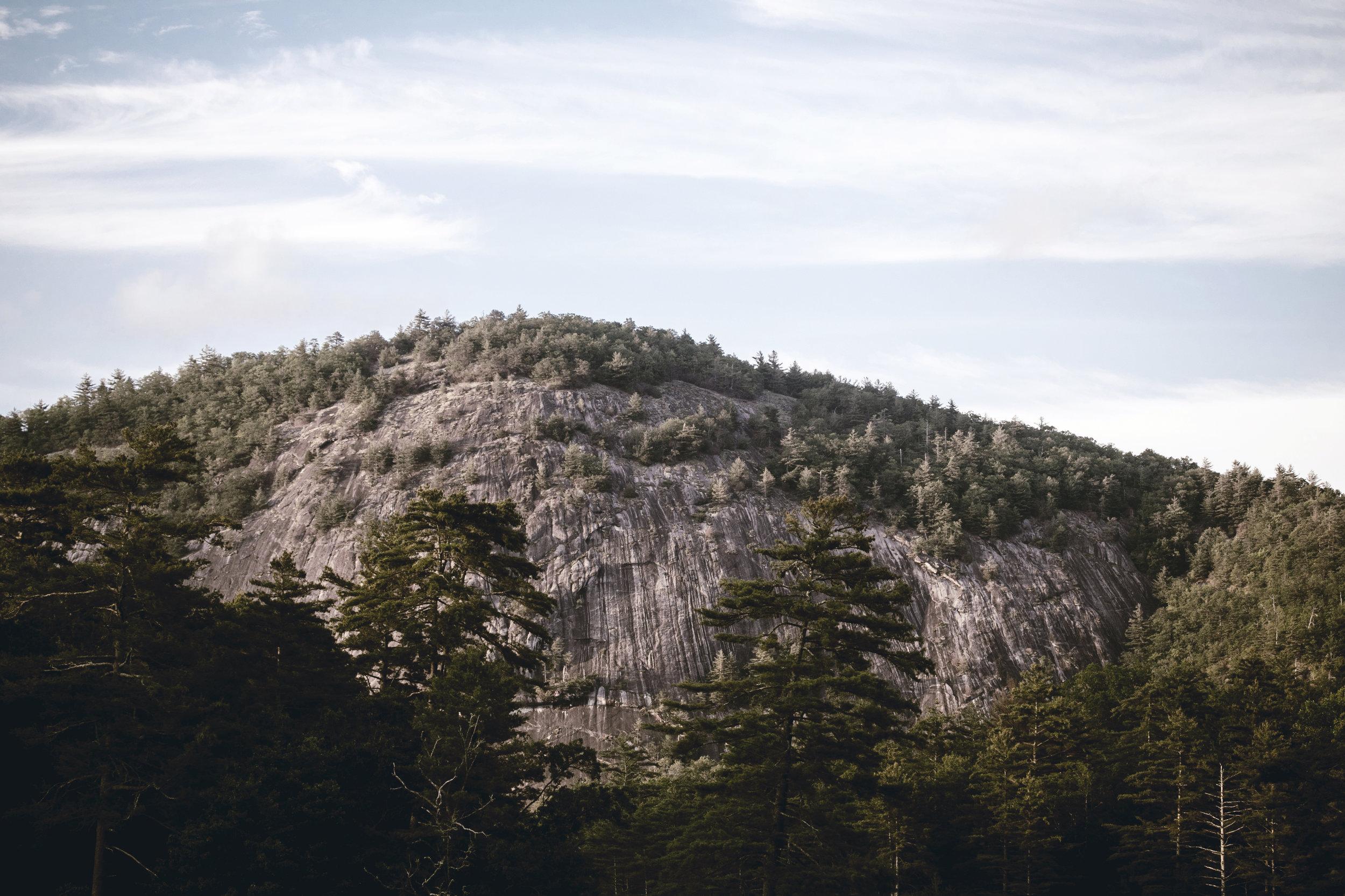 bald mountain in cashiers North Carolina / heirloomed