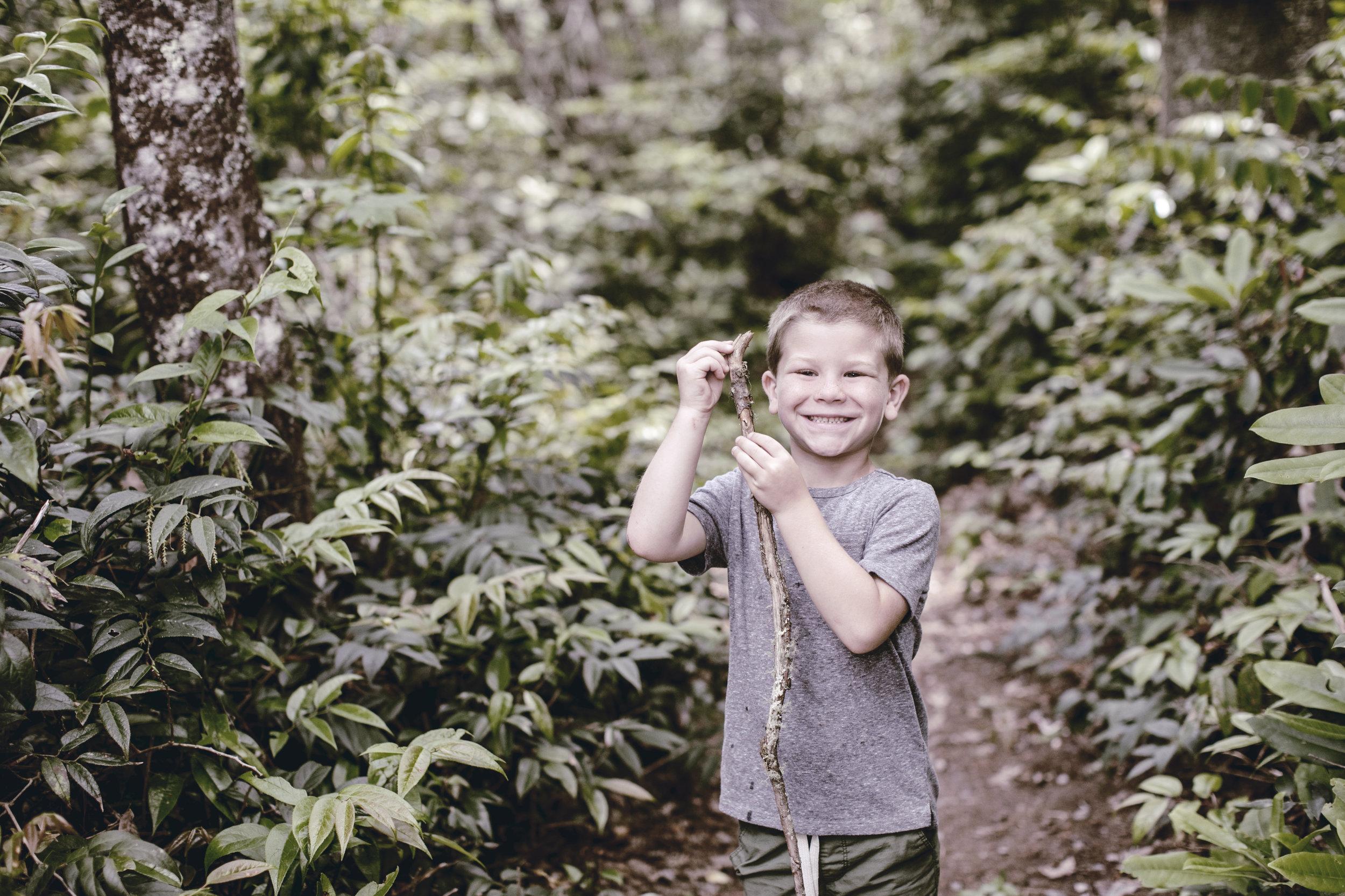 North Carolina family mountain hikes / heirloomed