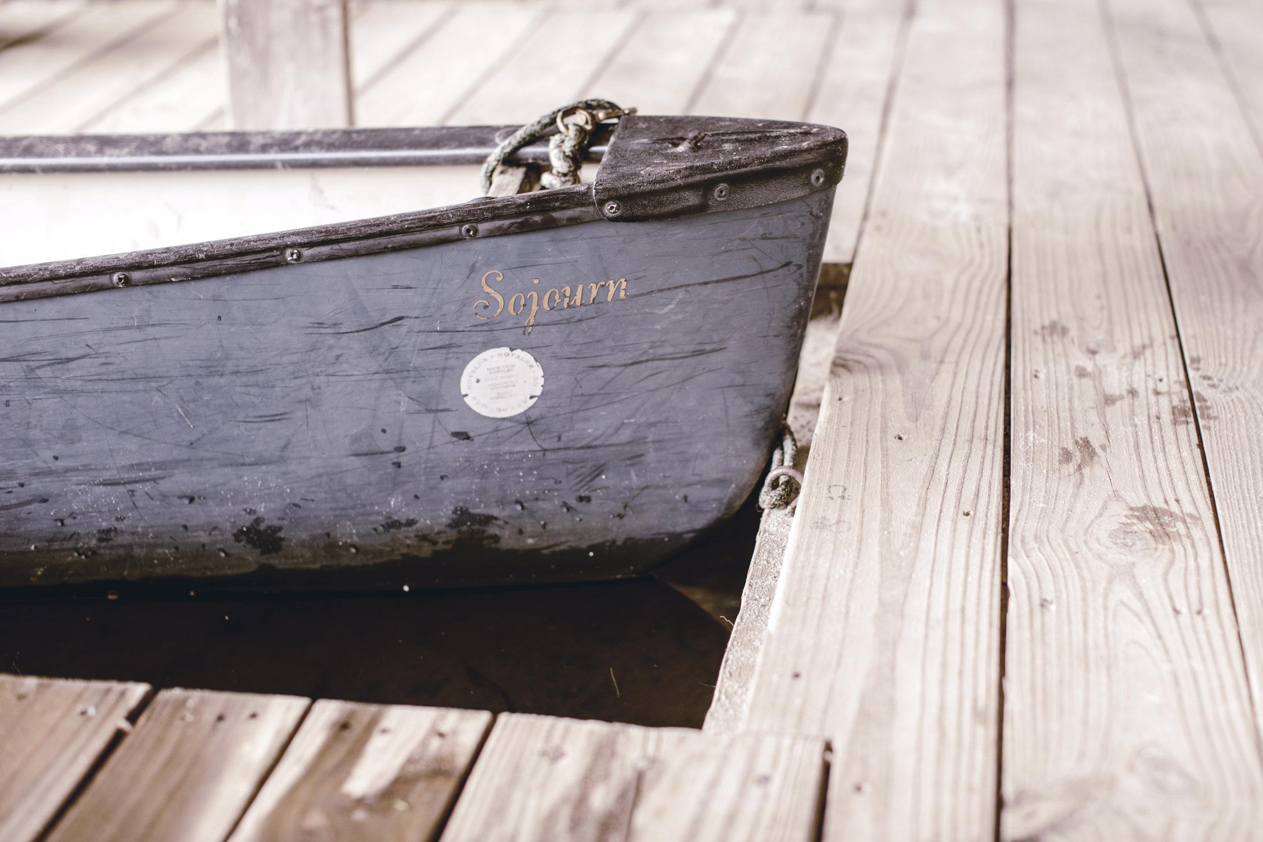 rustic canoe / heirloomed