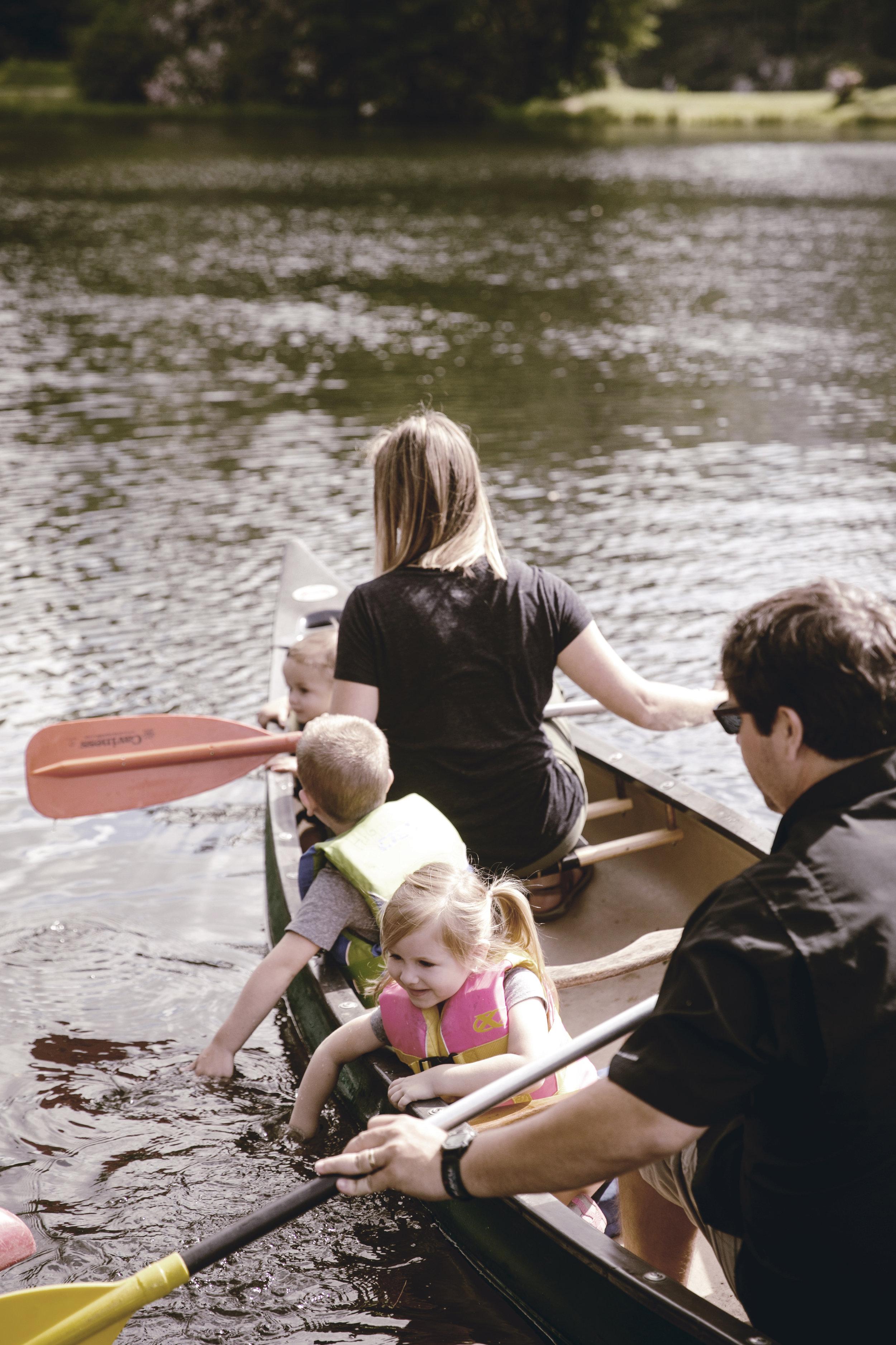 family canoeing adventure / heirloomed