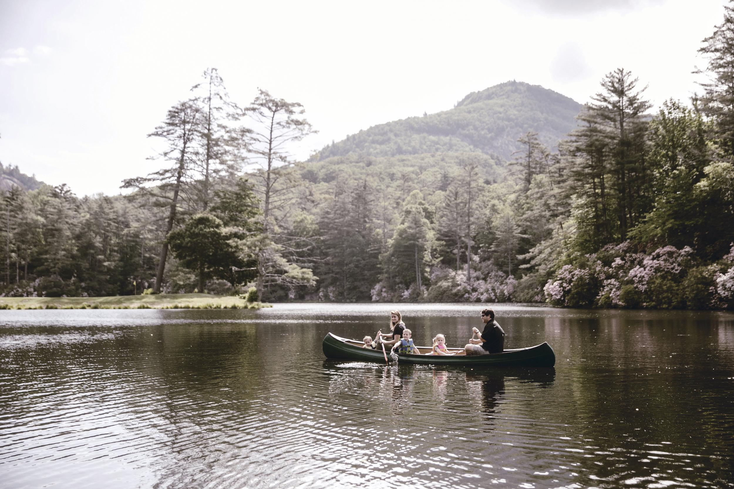 canoeing at high Hampton inn / heirloomed