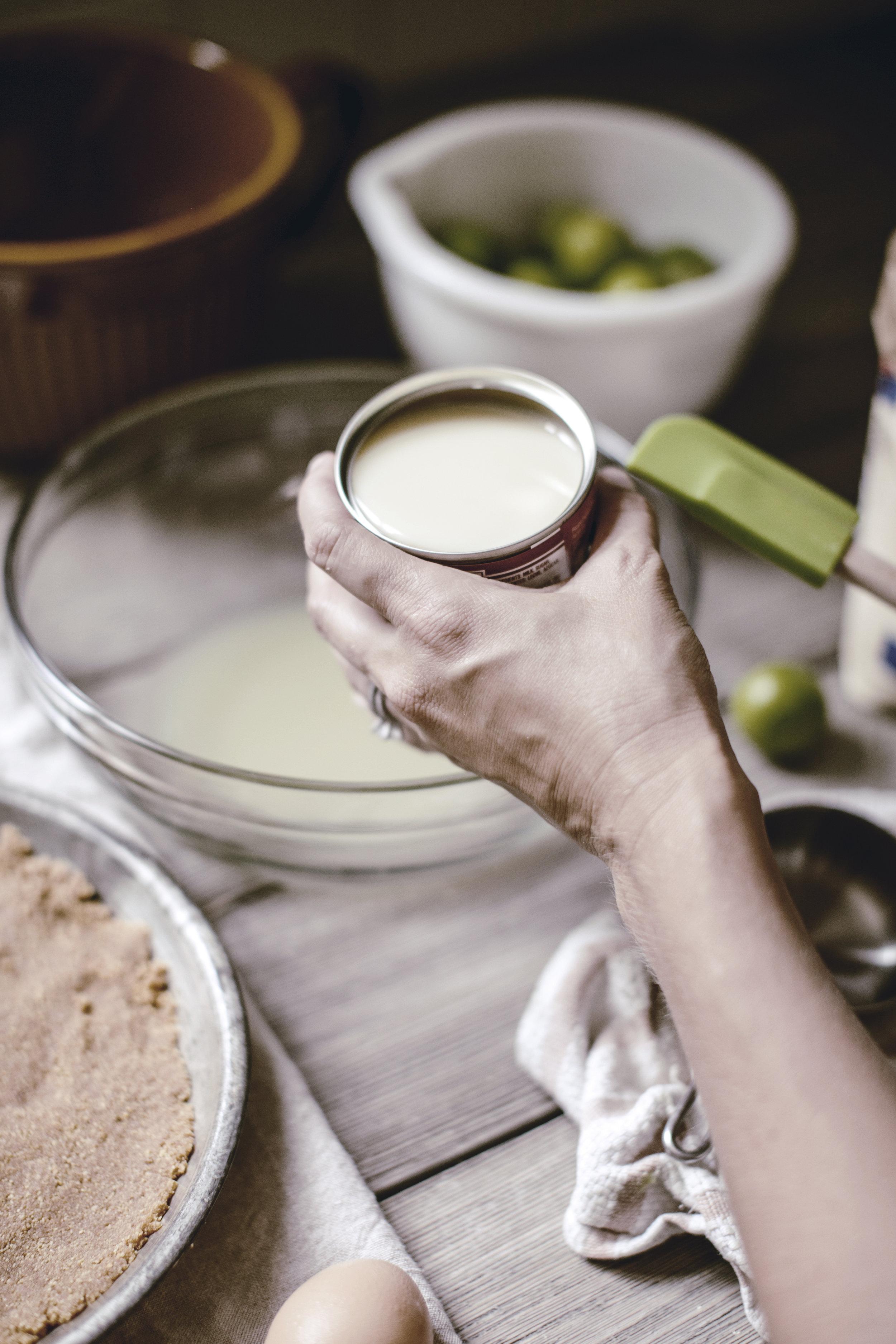 sweetened condensed milk / key lime pie recipe / heirloomed