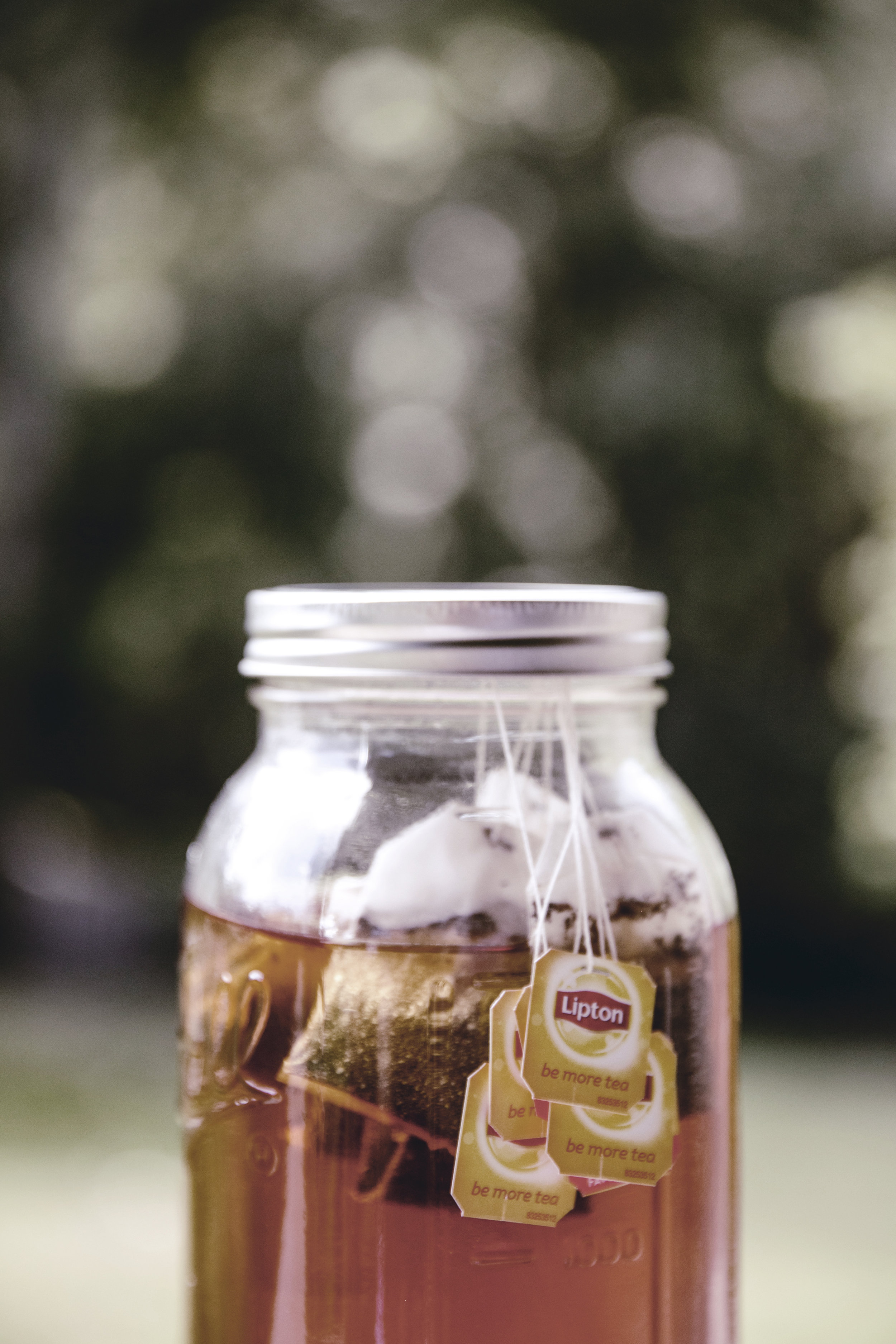brewing sweet tea / heirloomed