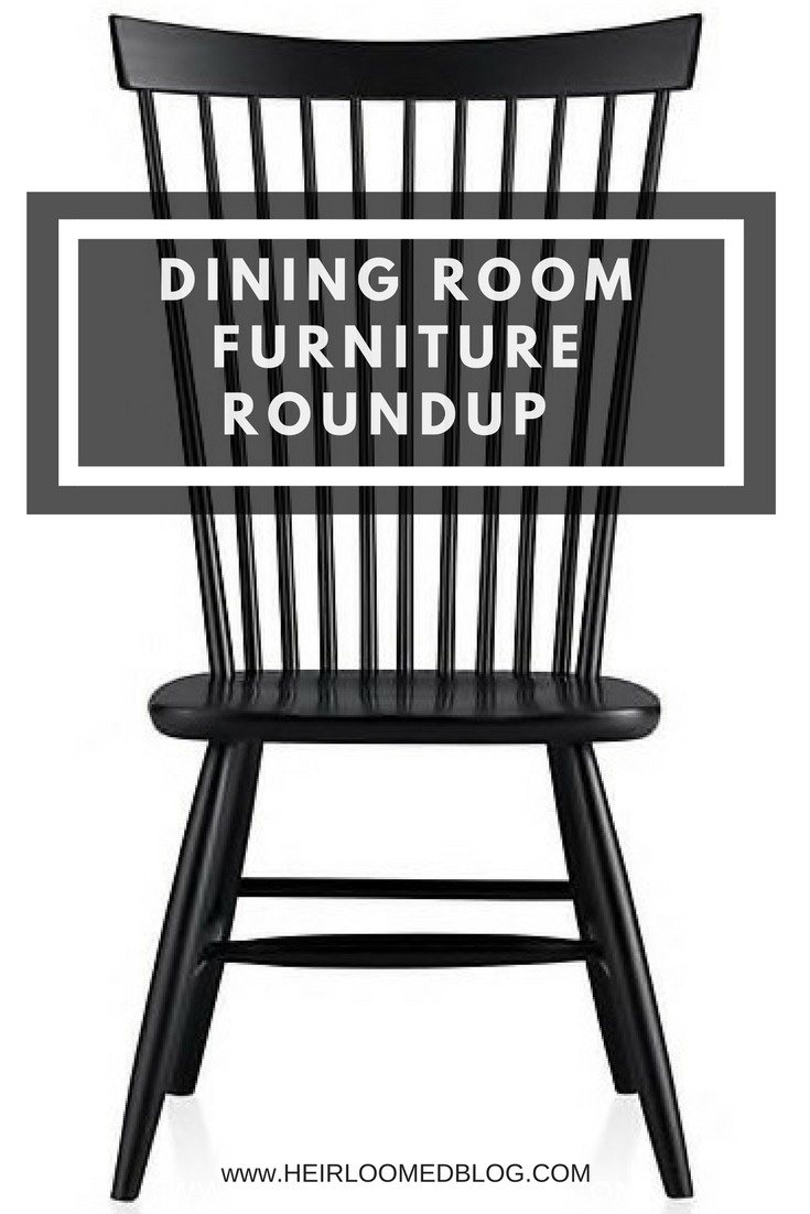 the best dining room tables and chairs roundup for thanksgiving / heirloomed