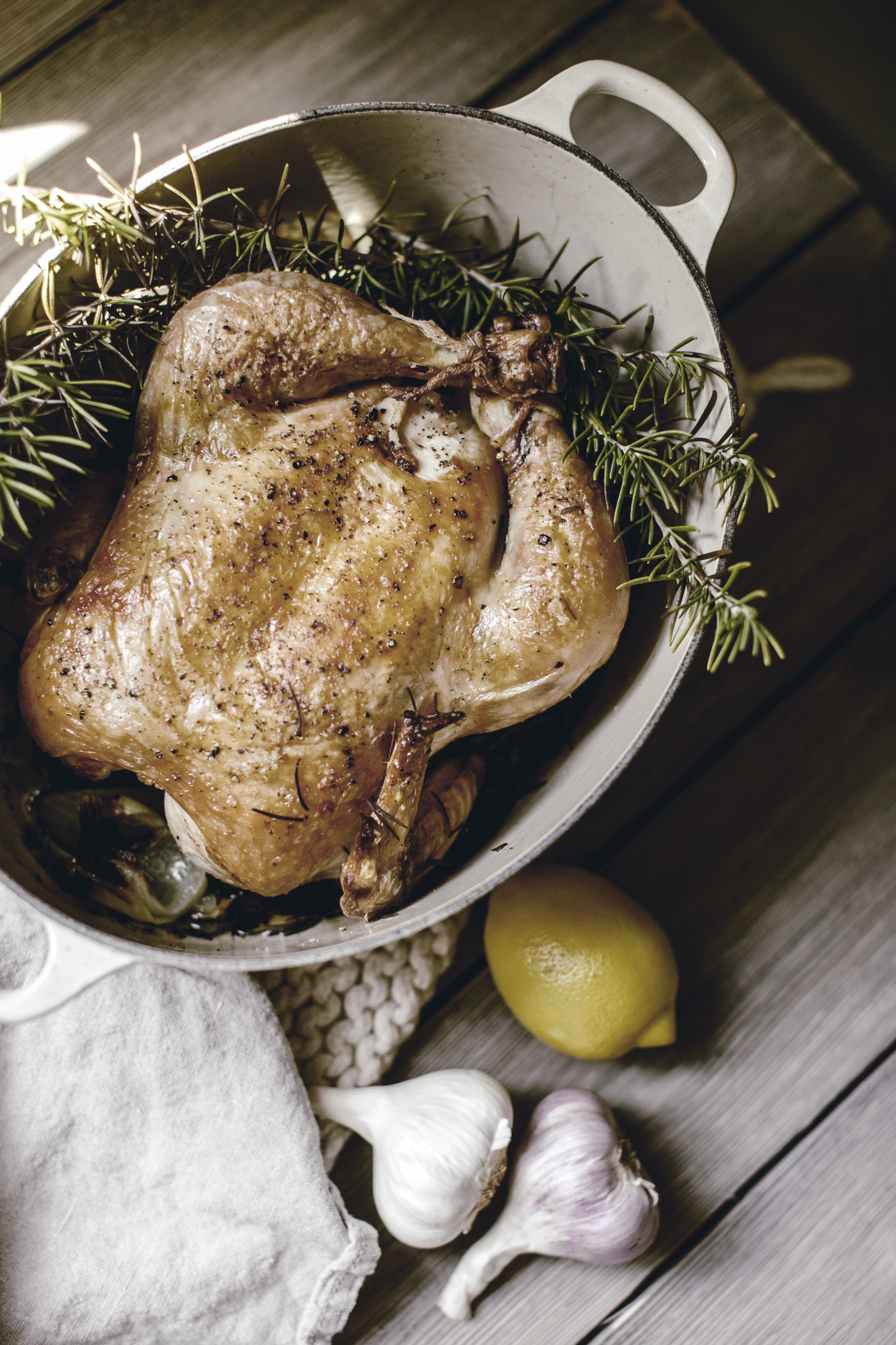 whole roasted chicken / family supper series / heirloomed